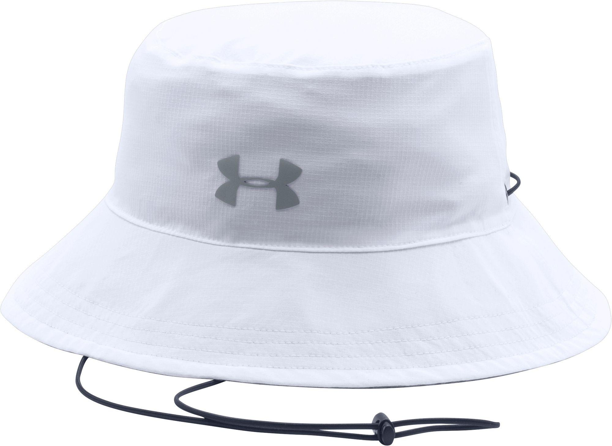 34c6a580778e6 ... cheap under armour white switchback reversible bucket hat 2.0 for men  lyst. view fullscreen 48536