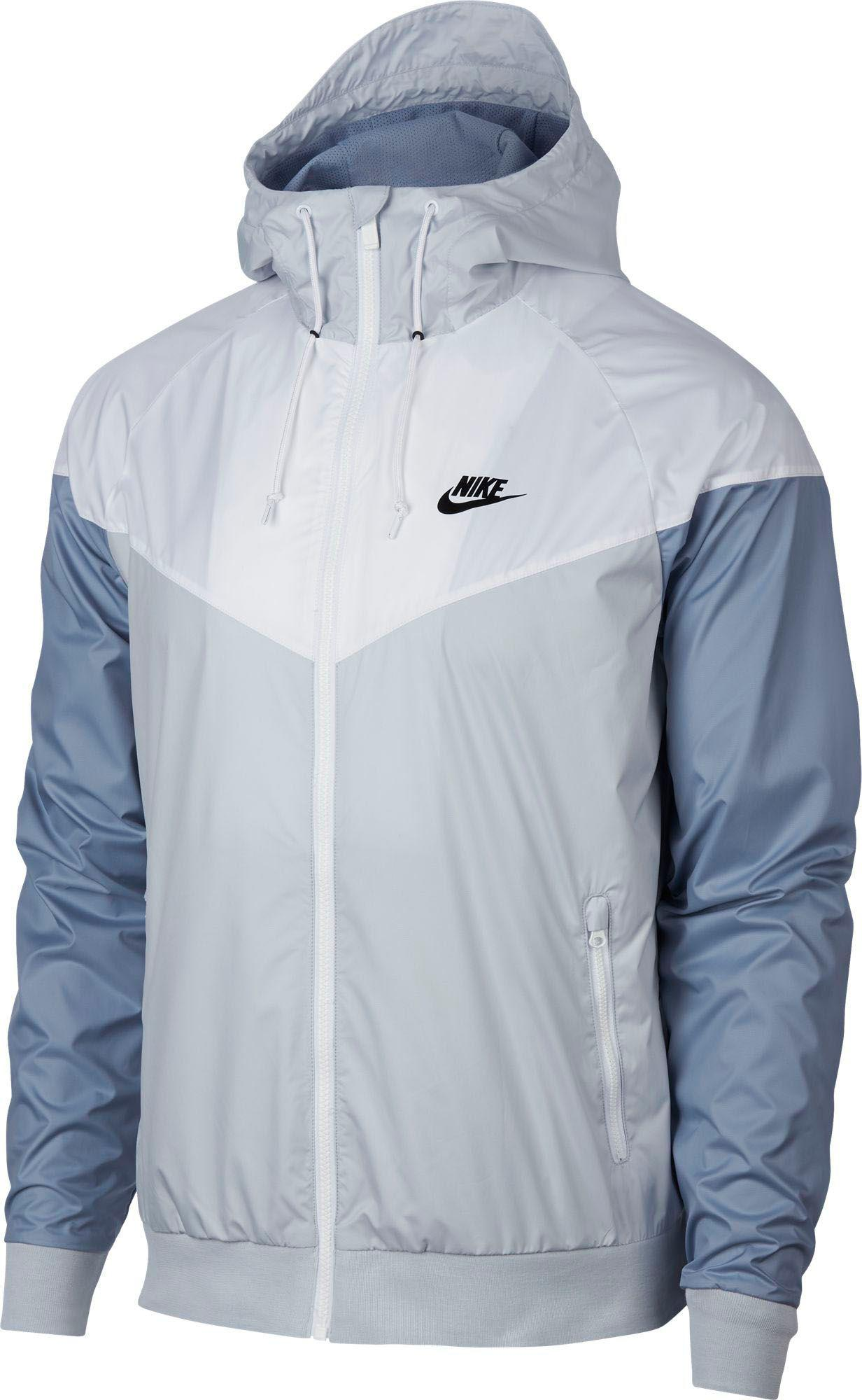 check out 56595 09fbe Nike - White Windrunner Full Zip Jacket for Men - Lyst