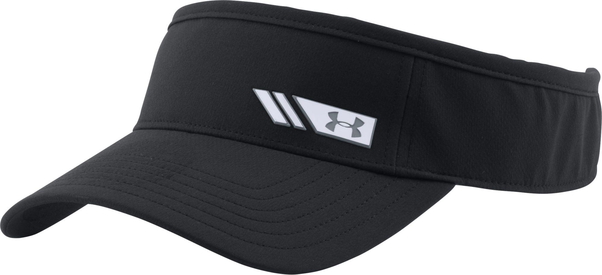 9a6bb98d862 Lyst - Under Armour Renegade Golf Visor in Black for Men