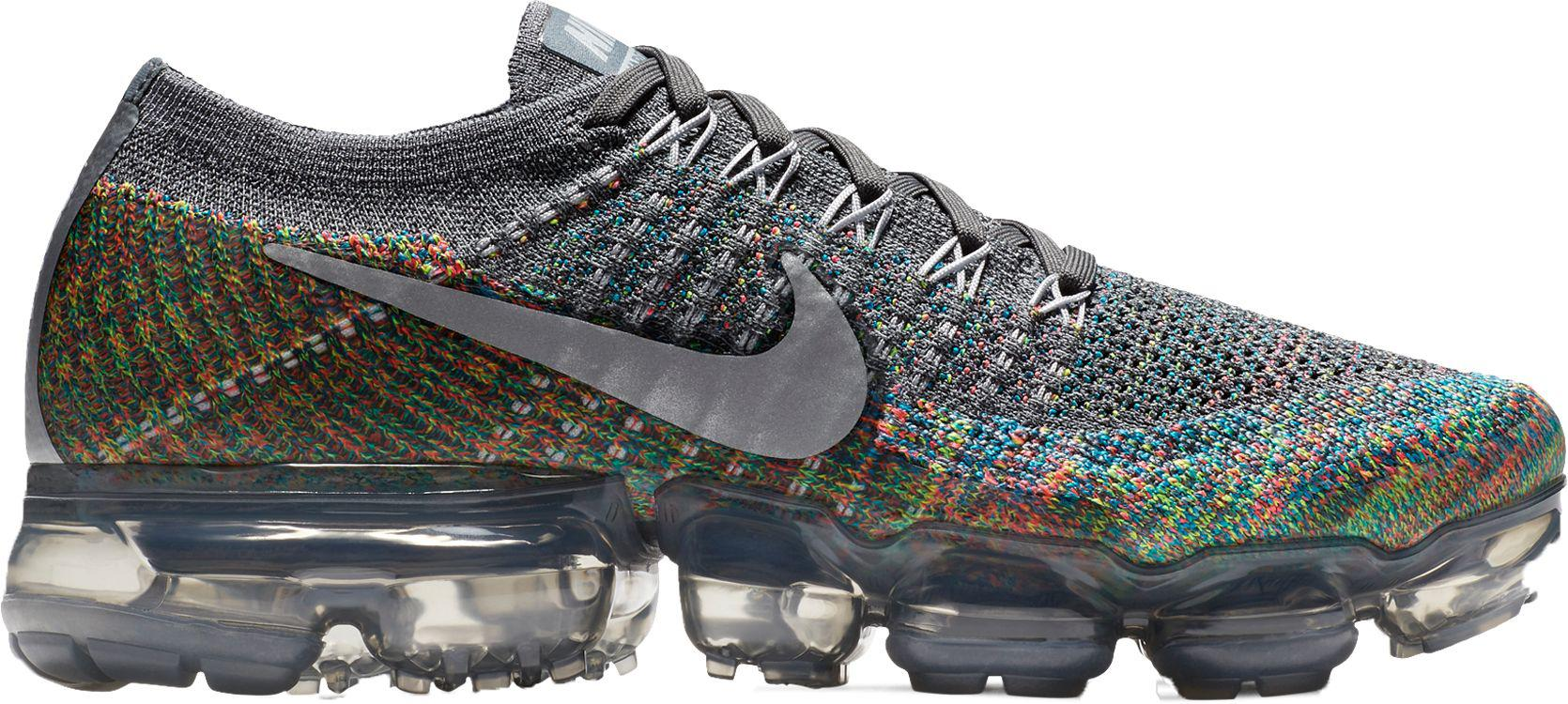 062121785cc60 Lyst - Nike Air Vapormax Flyknit Running Shoes in Gray