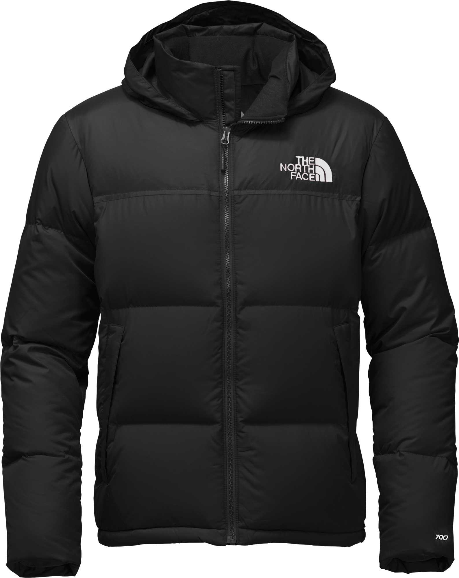 ca5b954110 ... authentic the north face black novelty nuptse down jacket for men lyst  8ba9e 0f275