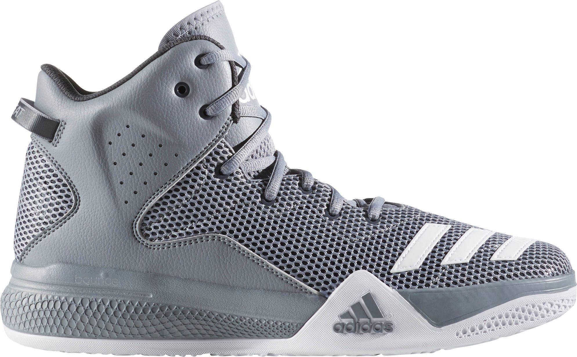 ... new zealand lyst adidas dual threat basketball shoes in gray for men  7fcdb fe494 9bfbd58cc