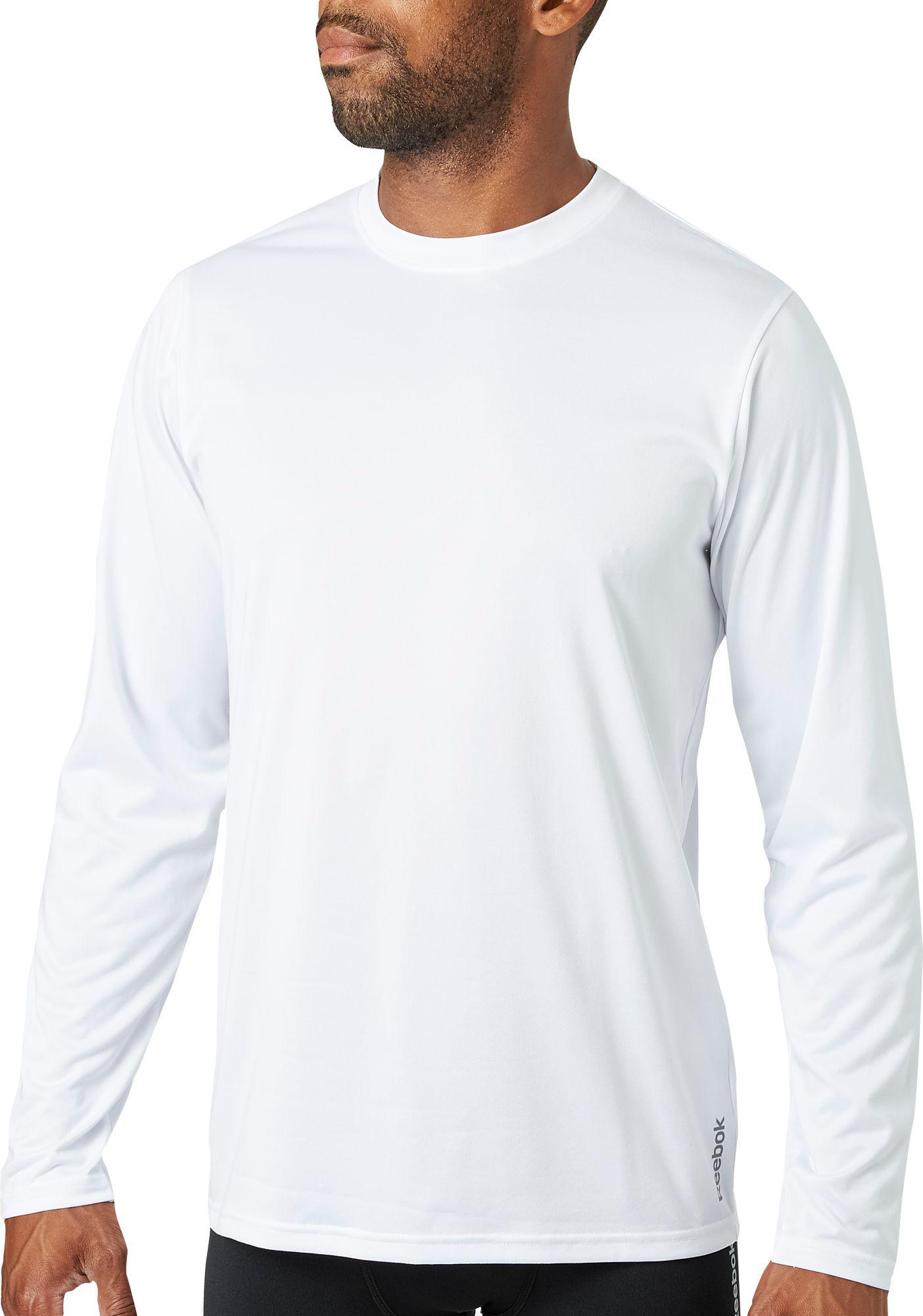 d3b0c842ac2c Lyst - Reebok Vector Long Sleeve Shirt in White for Men