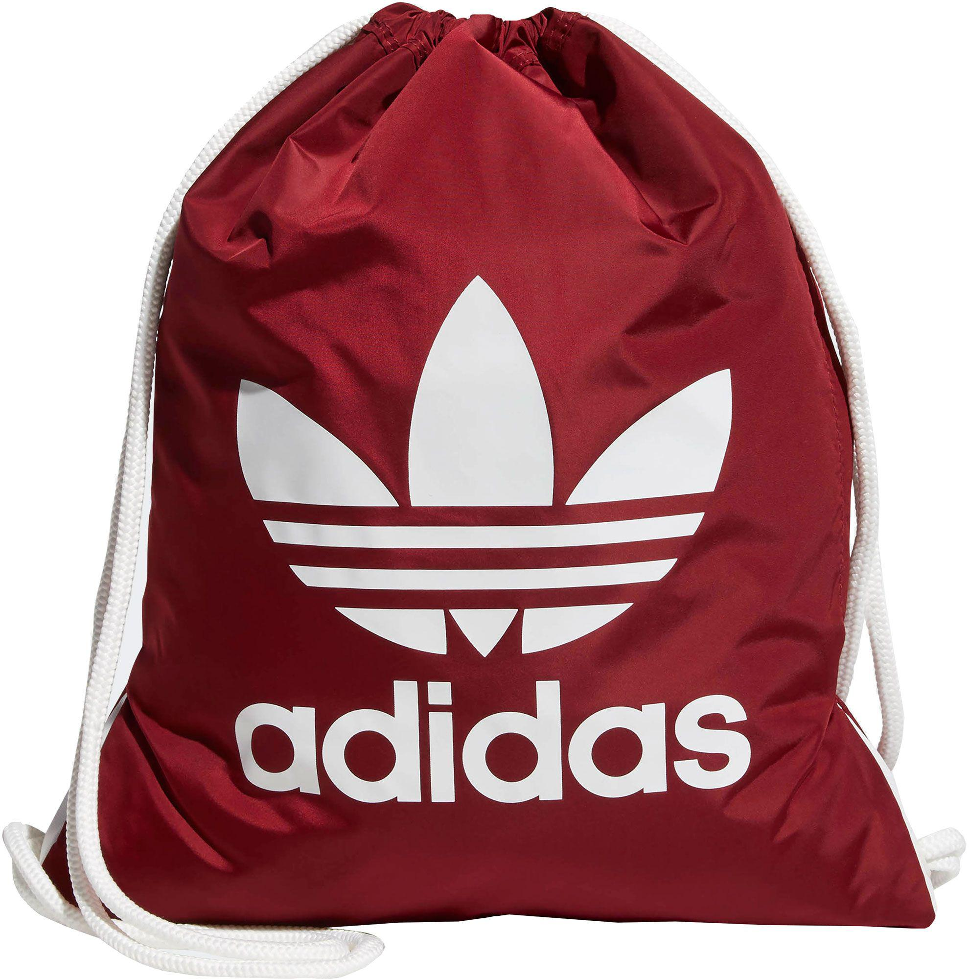 Adidas - Red Originals Trefoil Sackpack for Men - Lyst. View fullscreen ce07d46ceee26