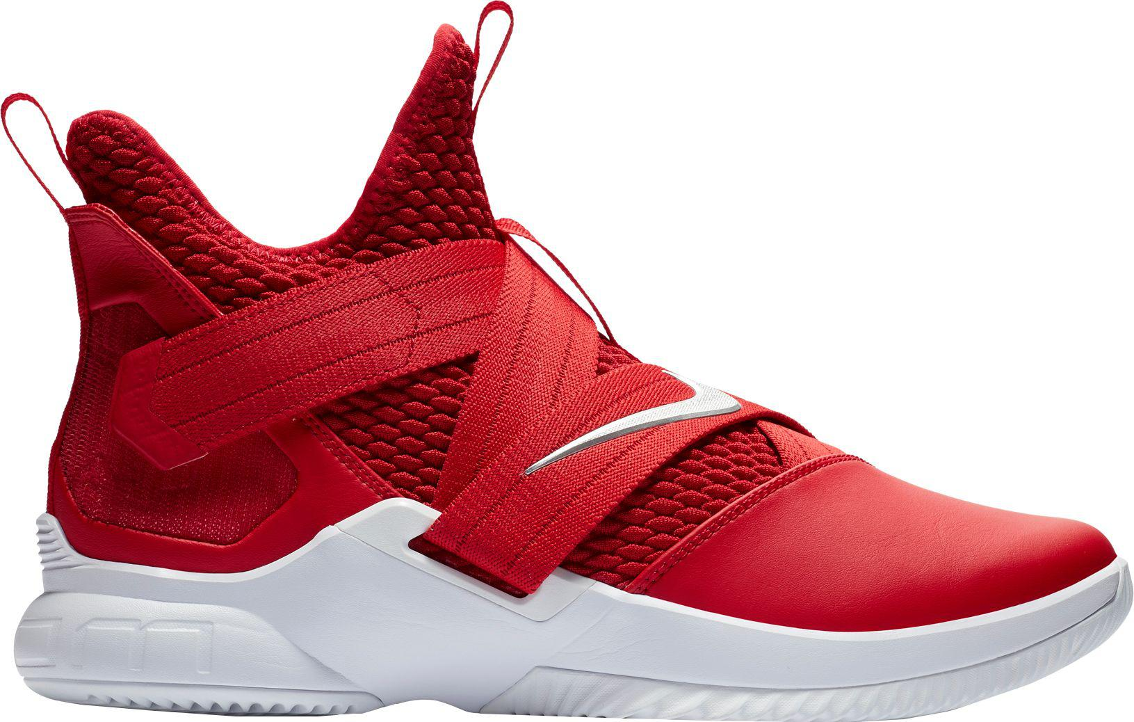 db8be44f0ef2 Lyst - Nike Zoom Lebron Soldier Xii Tb Basketball Shoes in Red for Men