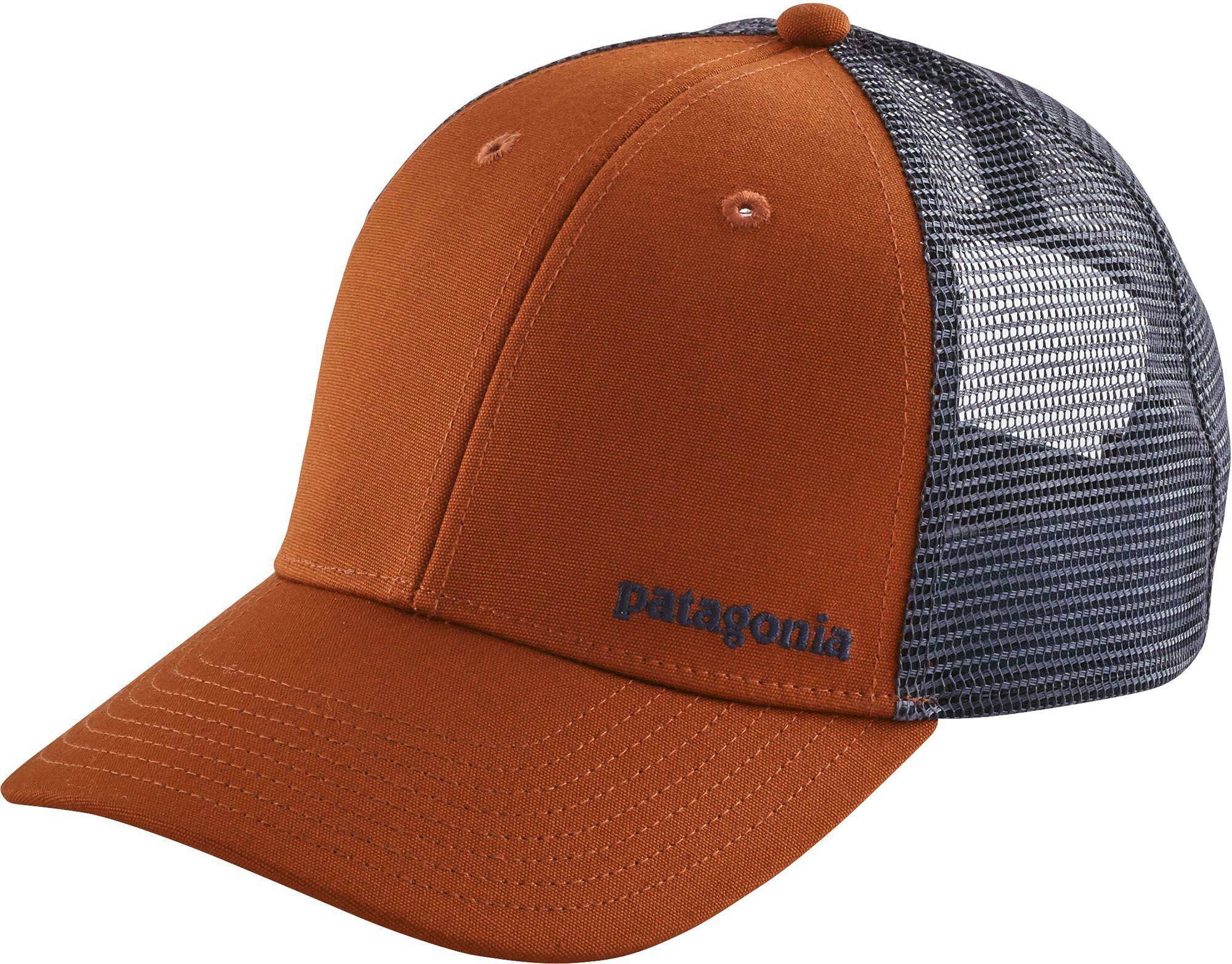 c20a9b90 Lyst - Patagonia Small Text Logo Lopro Trucker Hat in Brown for Men