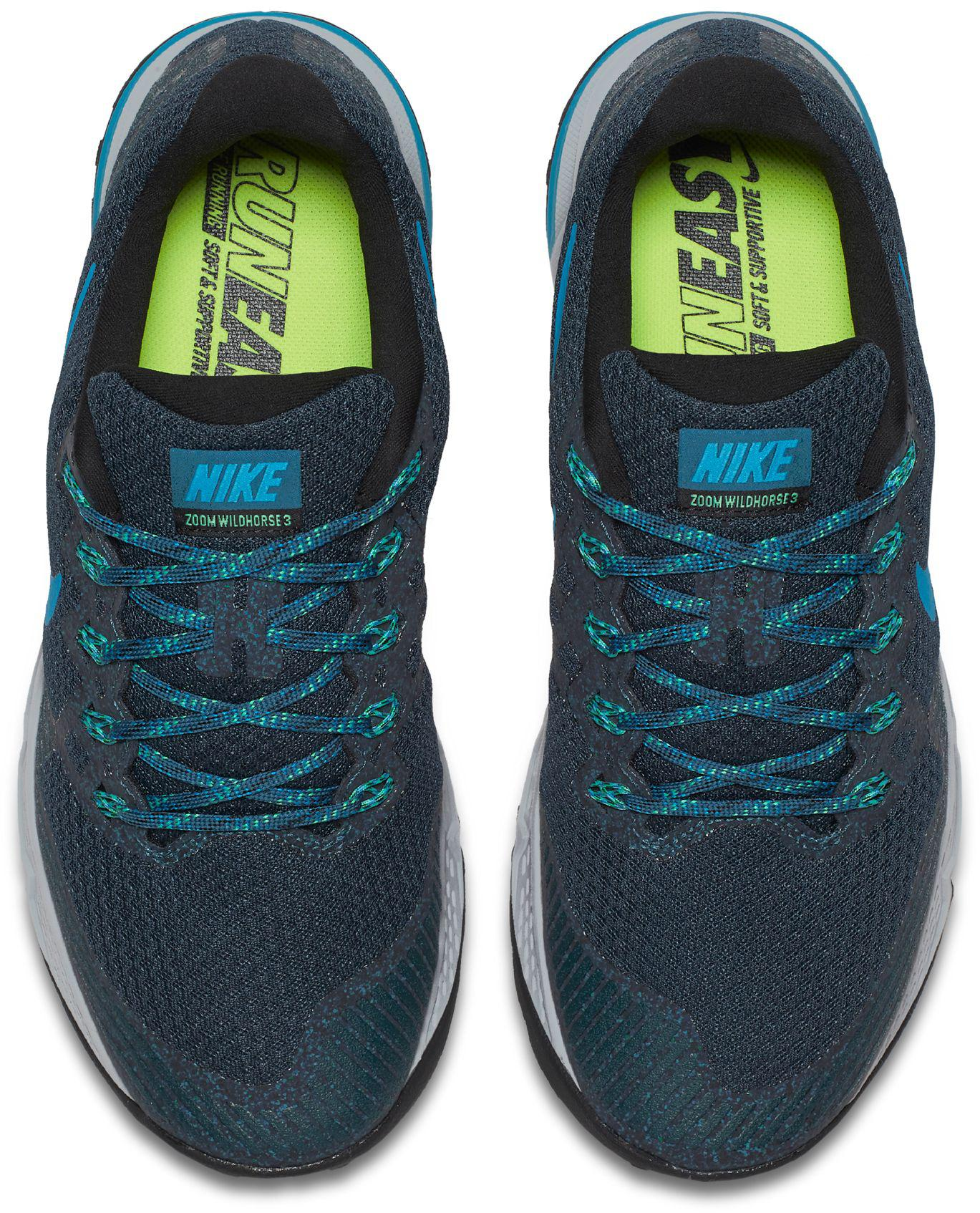 f93f79a4bbc6 Lyst - Nike Zoom Wildhorse 3 Trail Running Shoes in Blue for Men
