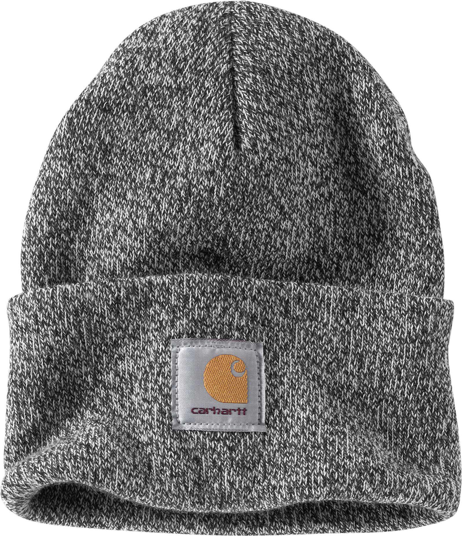 d33737bc234 View fullscreen · Carhartt - Black Knit Watch Cap for Men - Lyst