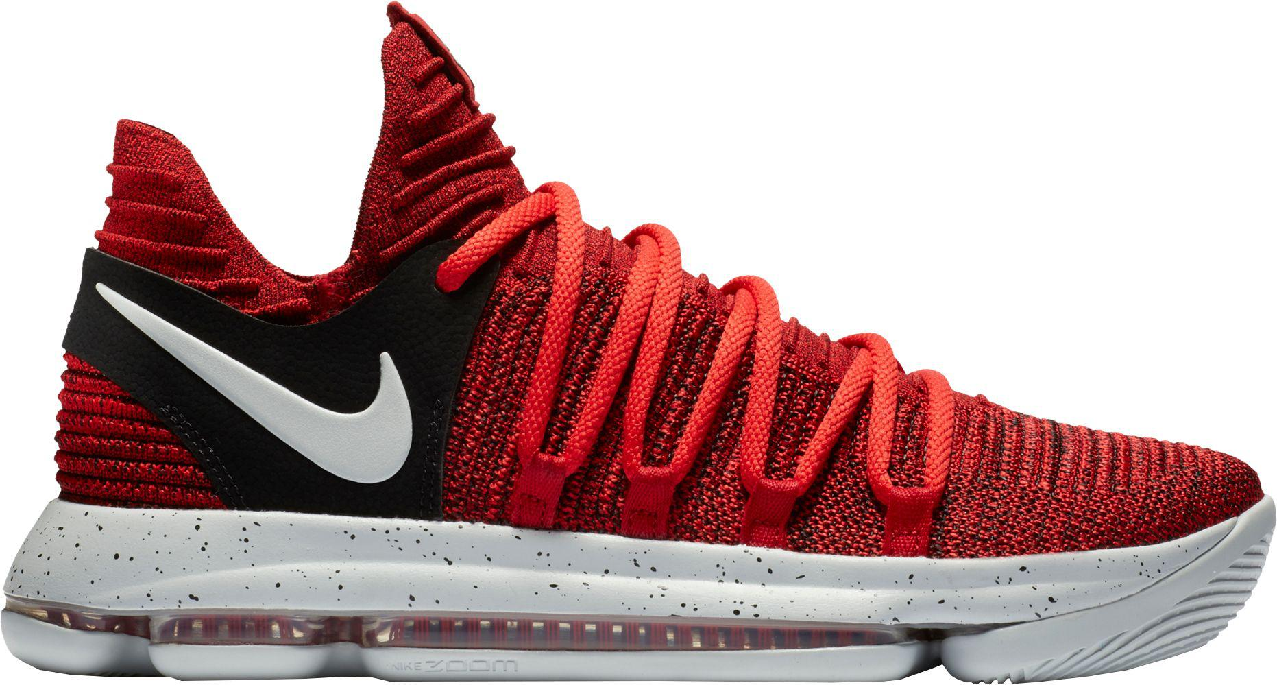 Lyst - Nike Zoom Kd 10 Basketball Shoes in Red for Men 8fce930a5