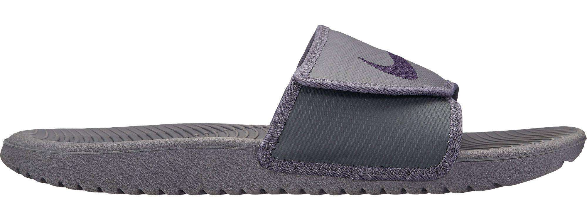 db3585742 Lyst - Nike Kawa Adjustable Slides in Gray for Men