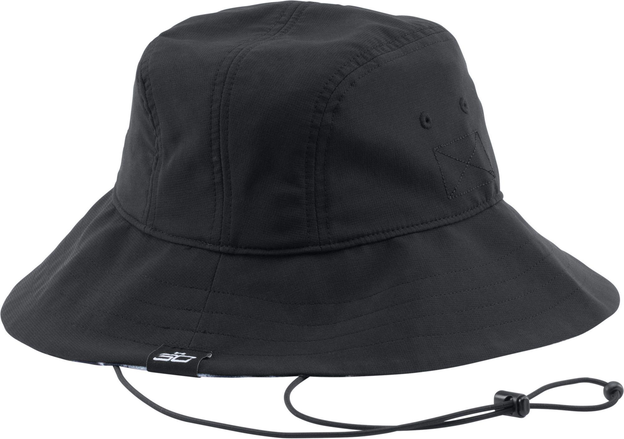 6cc8659d595de Lyst - Under Armour Sc30 Basketball Bucket Hat in Black for Men