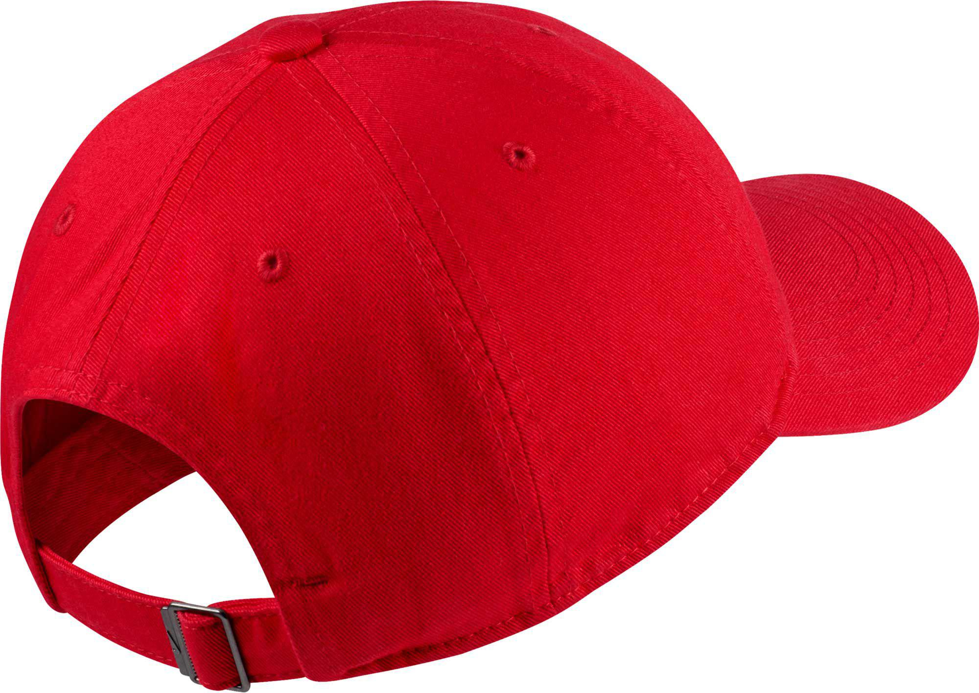 Nike - Red Oys  Heritage86 Futura Adjustable Hat for Men - Lyst. View  fullscreen 20d89217fa83