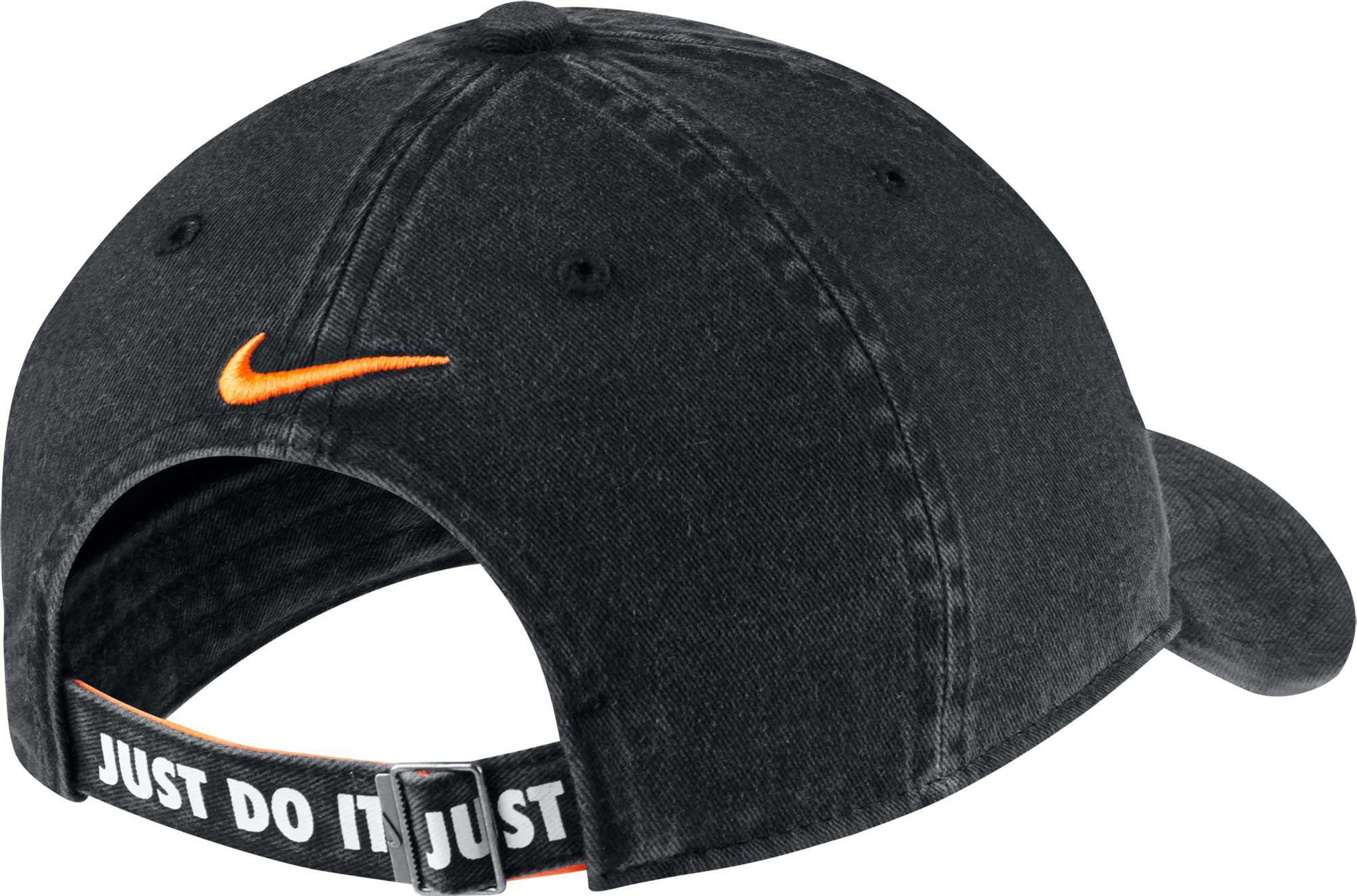 f138e40b98648 Nike - Black Oys  Heritage86 Shoebox Adjustable Hat for Men - Lyst. View  fullscreen