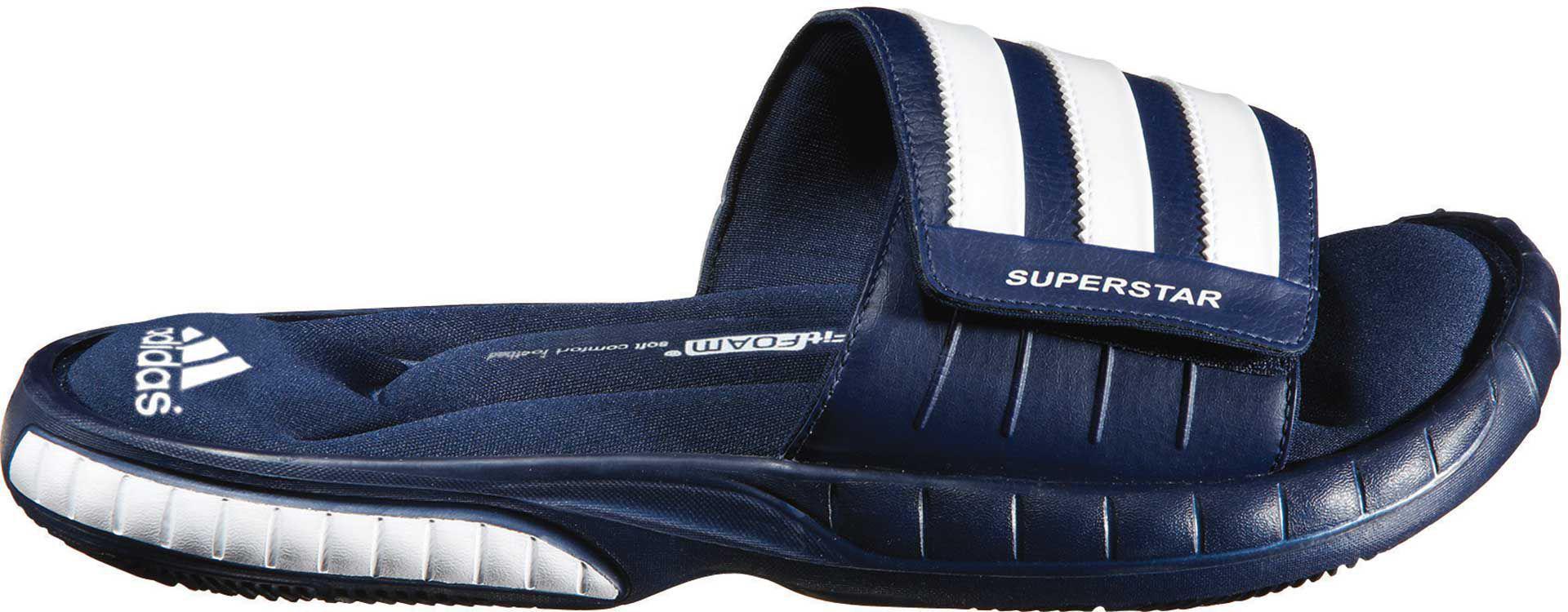 eecf4ef92486 Lyst - adidas Superstar 3g Slides in Blue for Men
