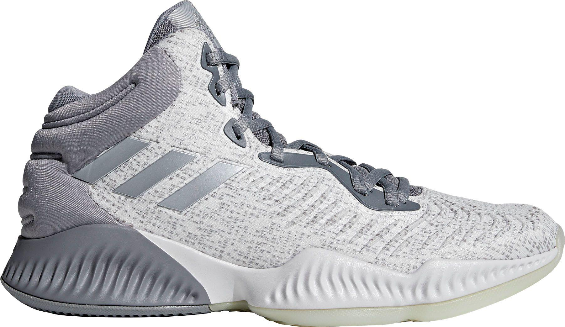 270a54b45ec12 Lyst - adidas Mad Bounce 2018 Basketball Shoes in Gray for Men