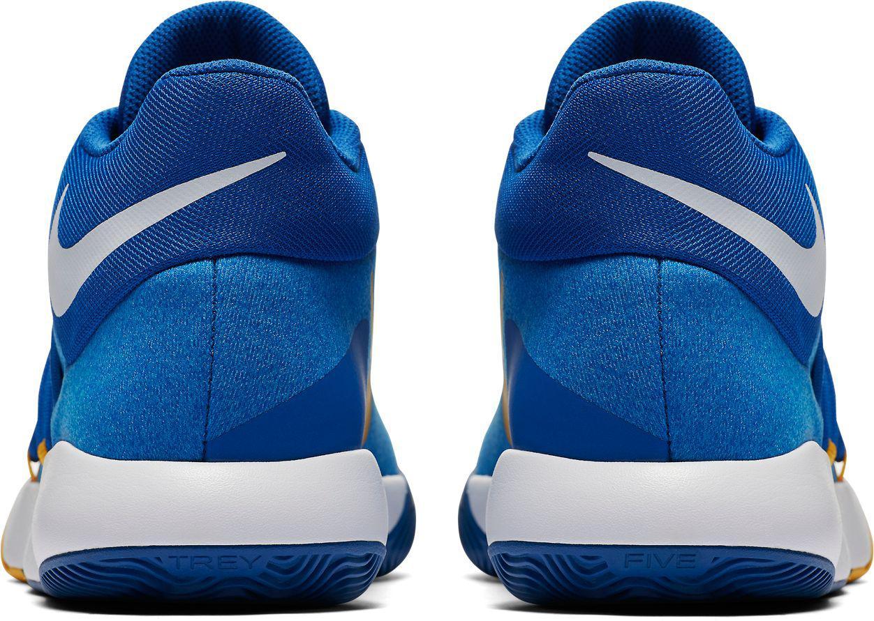 5a8bb046cbf ... hot sales 596de 988dd Nike - Blue Kd Trey 5 V Basketball Shoes for Men -