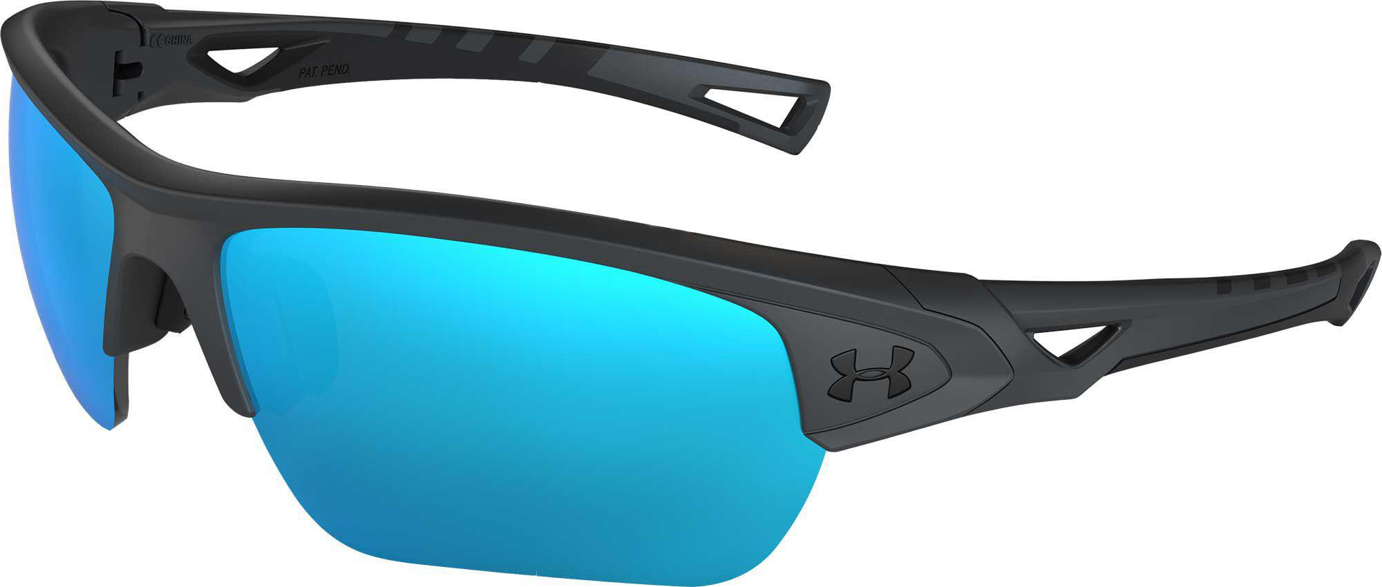 d1d4fc6a0e Lyst - Under Armour Youth Menace Tuned Baseball softball Sunglasses ...