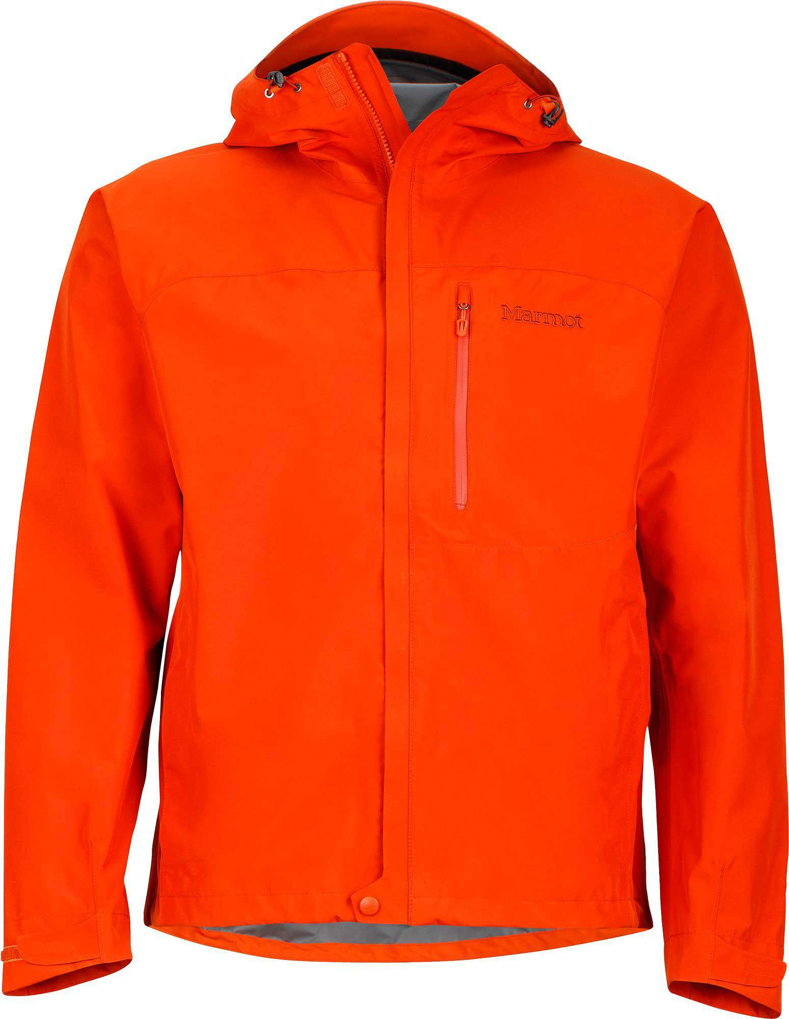 c2082f6f0dd9 Lyst - Marmot Minimalist Rain Jacket in Orange for Men