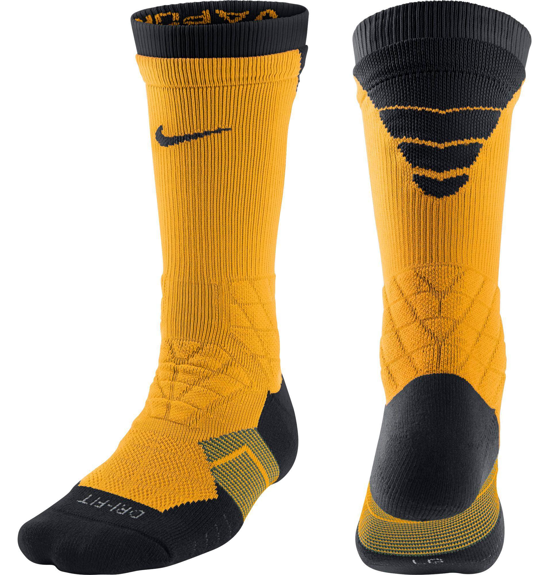 4b1c7b97295e Nike - Yellow Dri-fit 2.0 Vapor Elite Crew Football Socks for Men - Lyst