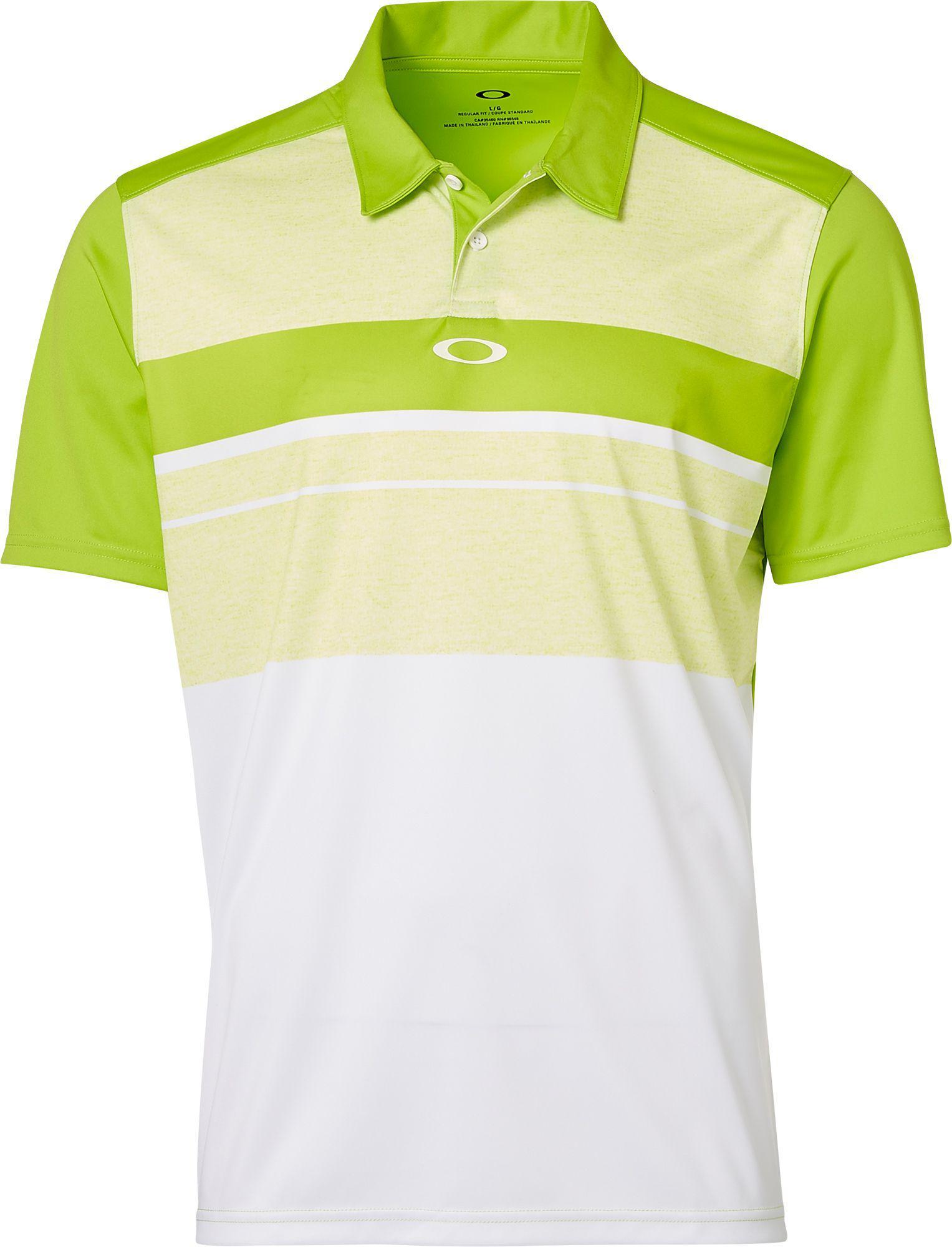 601e3f2706f1 Oakley Major Golf Polo in Green for Men - Lyst