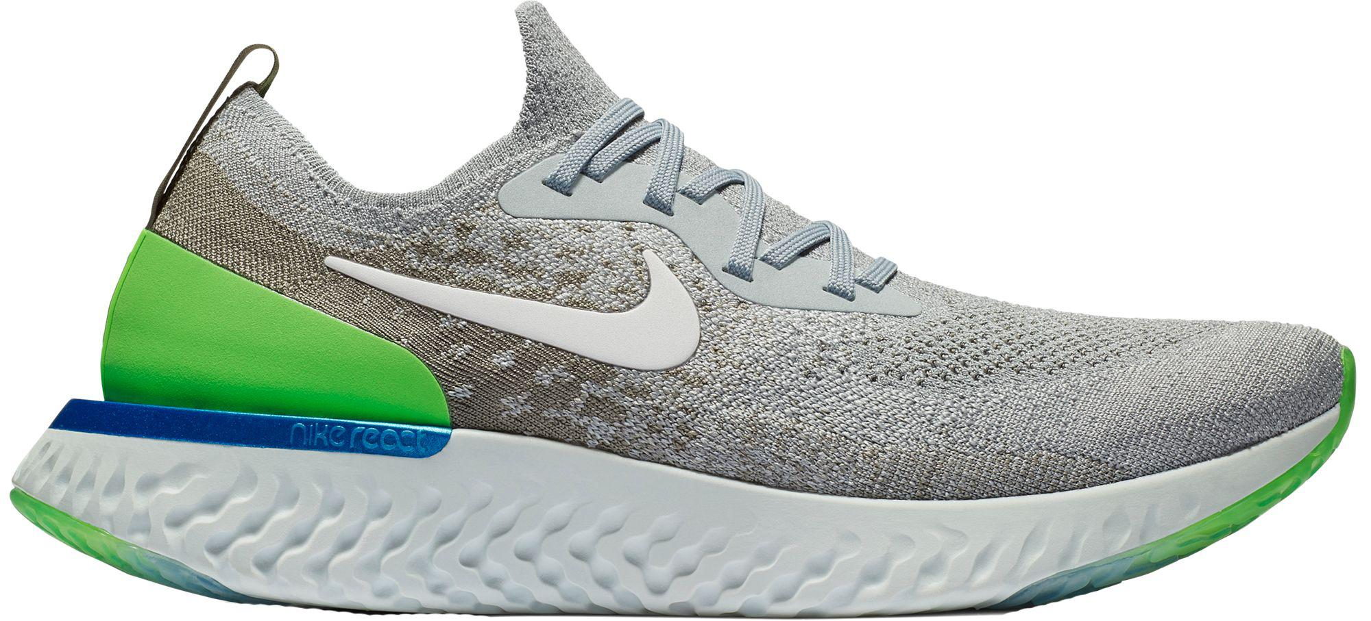 d694c43f9039 Lyst - Nike Epic React Flyknit Running Shoes in Gray for Men
