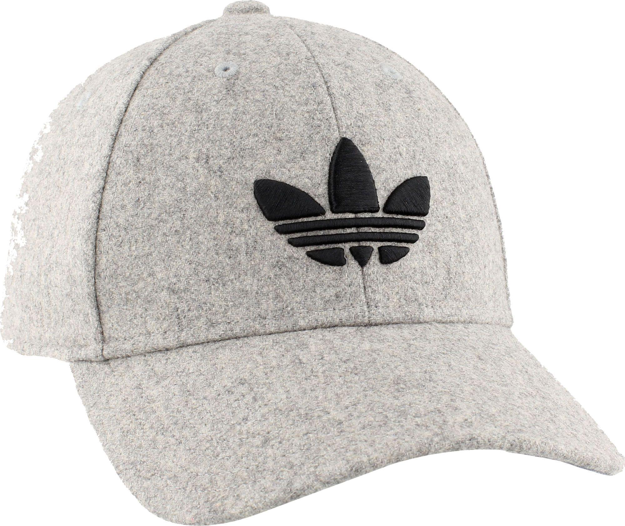 18ef67c6 ... usa lyst adidas originals trefoil plus precurve hat in gray for men  1f4e2 0f65c