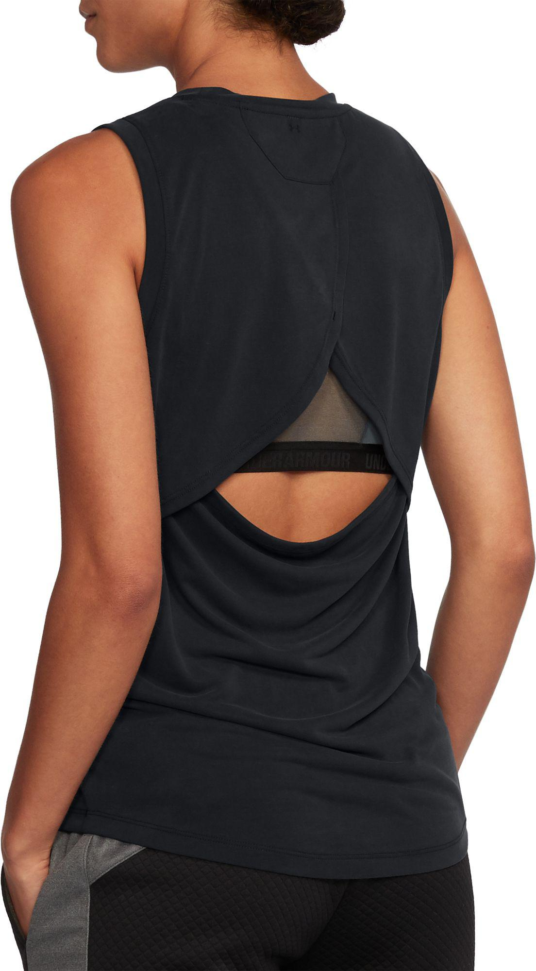 a5478b49 Under Armour Unstoppable Graphic Muscle Tank Top in Black - Lyst