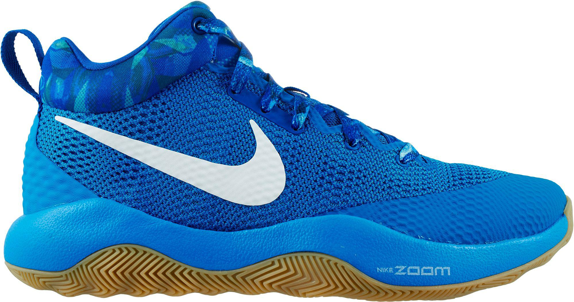 sports shoes 93528 ddf37 Nike Zoom Rev 2017 Basketball Shoes in Blue for Men - Lyst