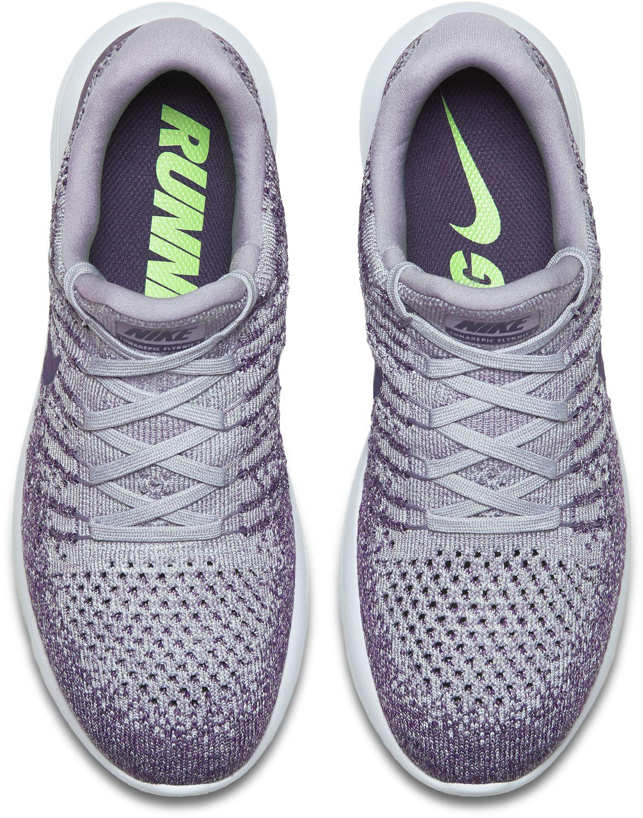 a6135a98dfa6 ... Nike - Purple Lunarepic Low Flyknit 2 Running Shoes for Men - Lyst  Nike  - Black ...