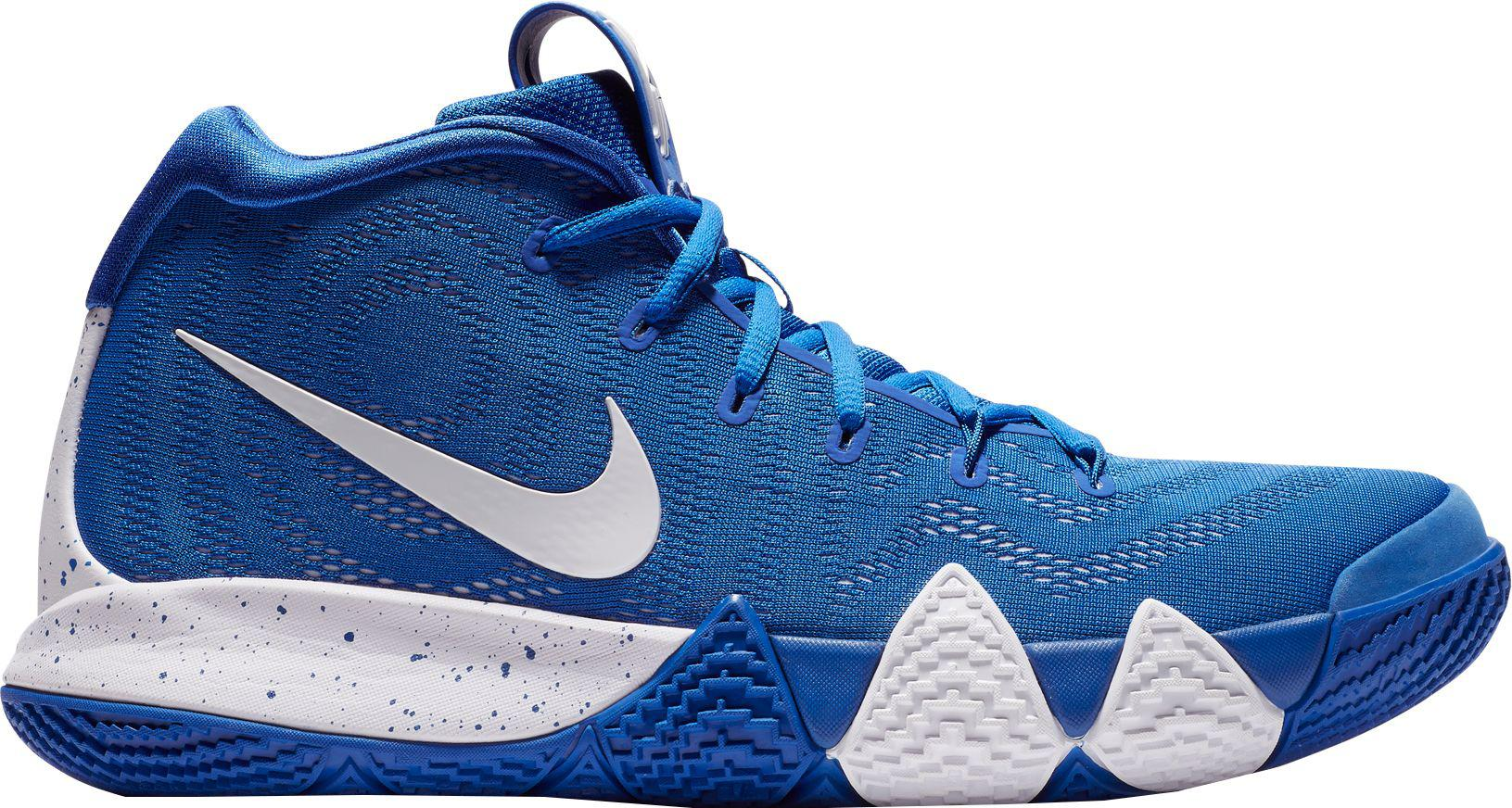 8f8bffb7764 Nike Kyrie 4 Tb Basketball Shoes in Blue for Men - Lyst