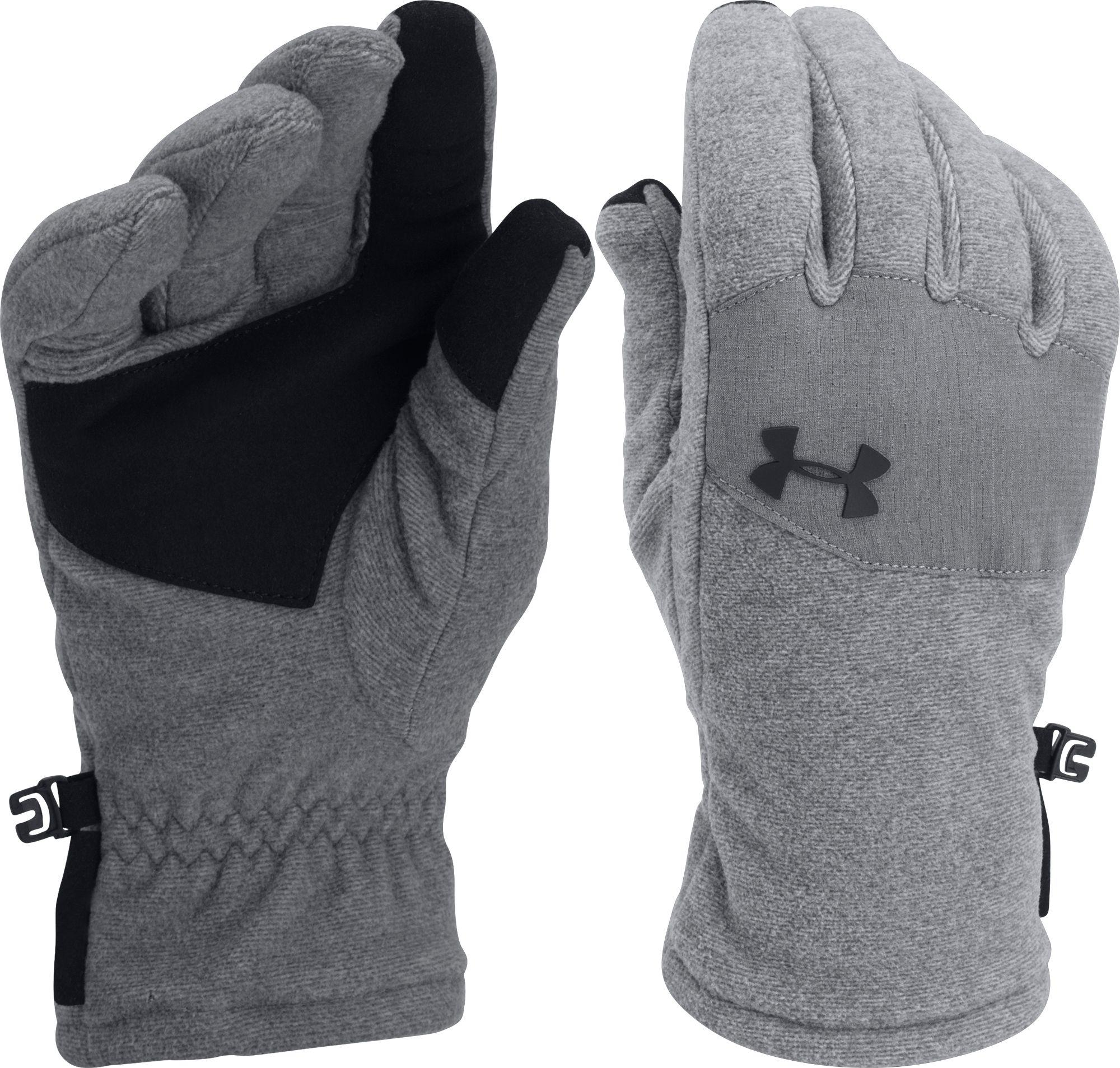 Under Armour   Black Coldgear Infrared Fleece Gloves 2.0 For Men   Lyst