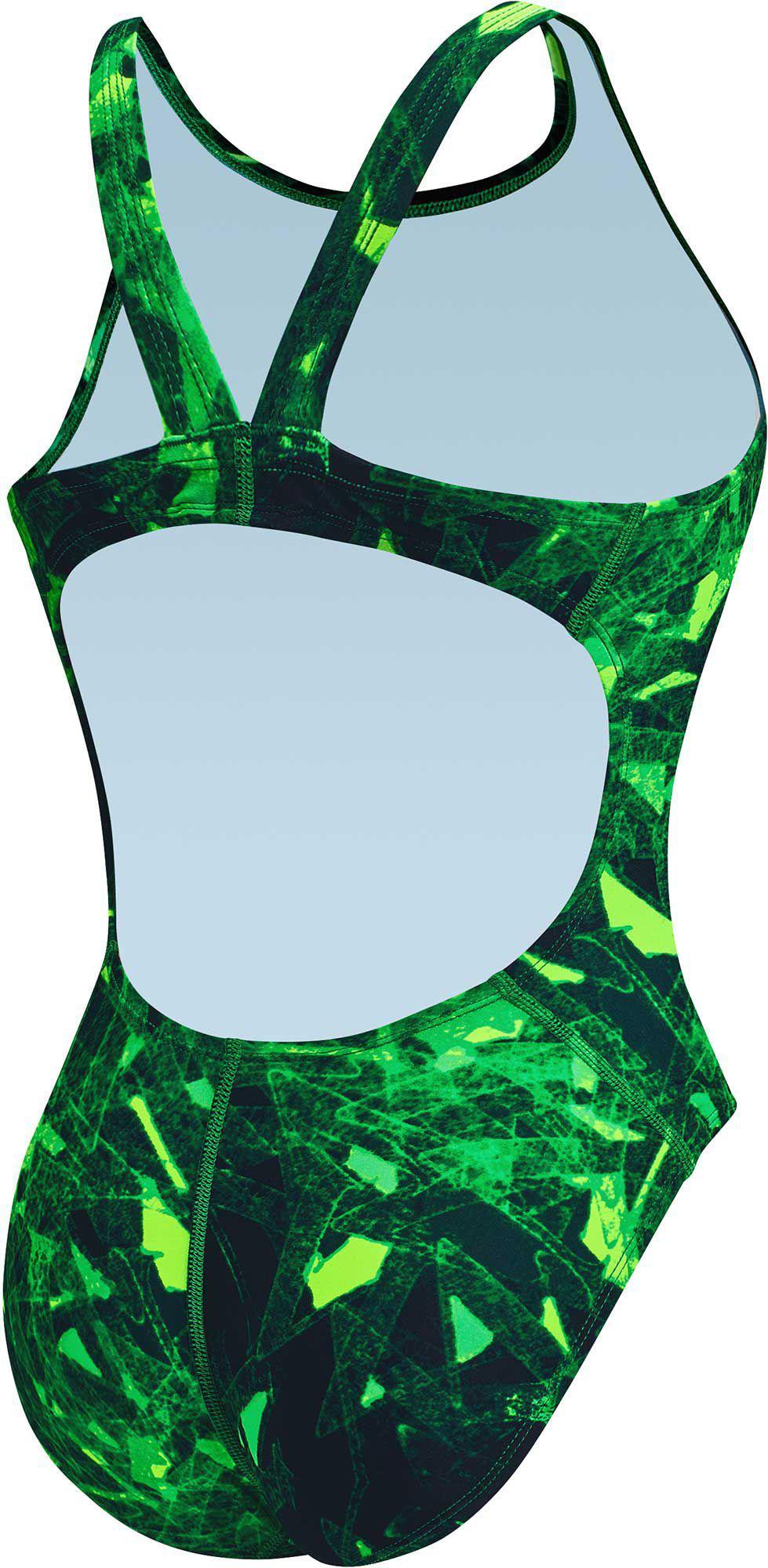 c7a6ef7b0b3b2 Nike - Green Gemstone Fastback Tank Swimsuit - Lyst. View fullscreen
