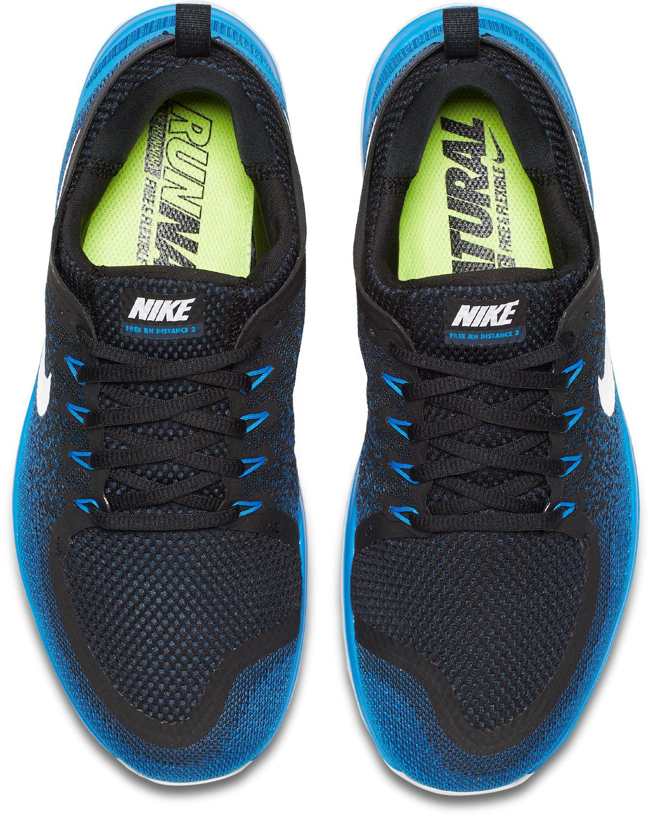 4917441c3f28 Lyst - Nike Free Rn Distance 2 Running Shoes in Blue for Men
