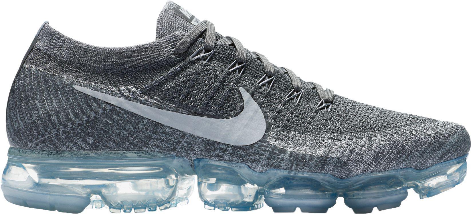 Nike - Gray Air Vapormax Flyknit Running Shoes for Men - Lyst