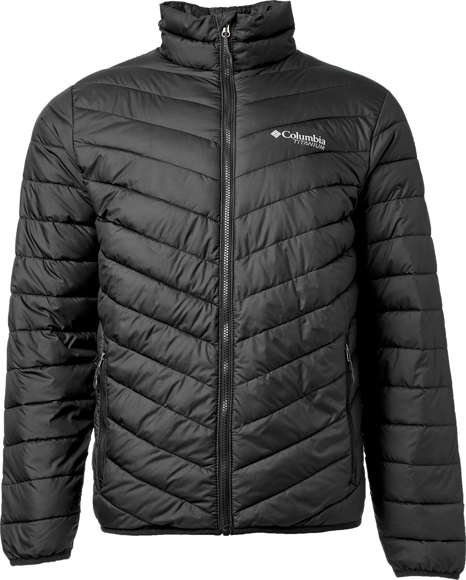 Lyst - Columbia Titanium Valley Ridge Jacket in Black for Men