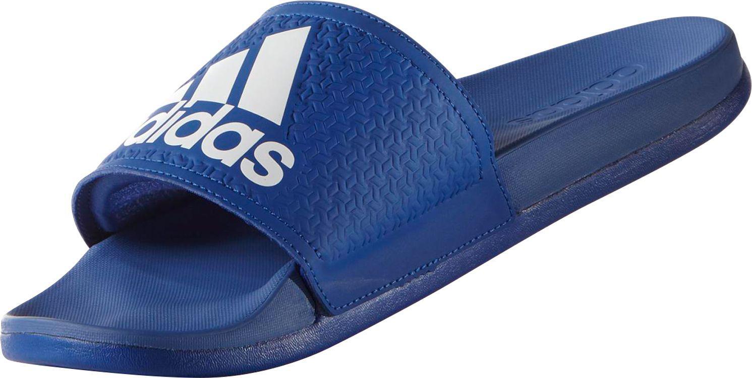 b31bdb10424f6 Lyst - adidas Blue Adilette Cloudfoam Plus Sliders in Blue for Men