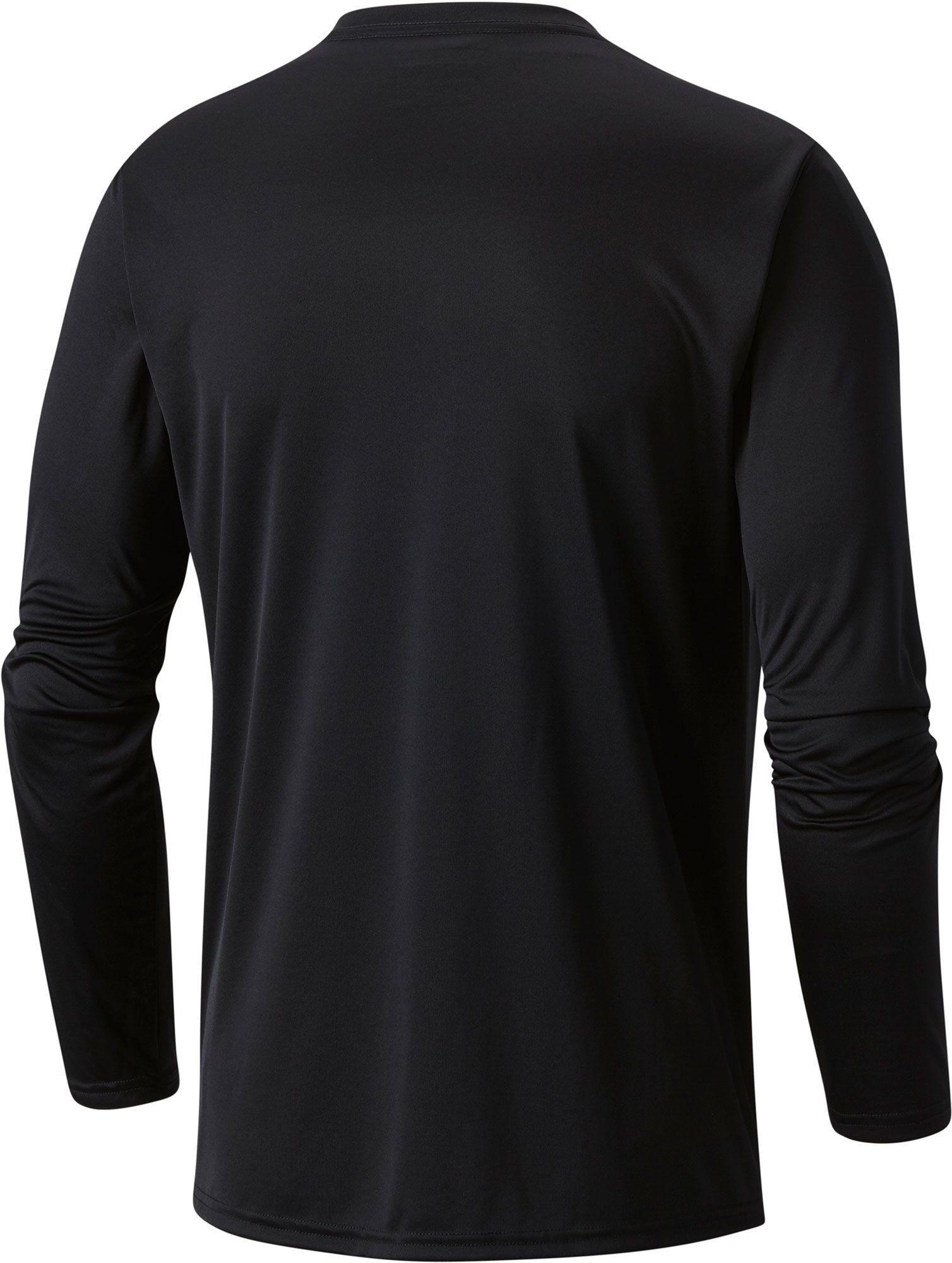 df4c6a925ba Lyst - Columbia Pfg Terminal Tackle Long Sleeve Shirt in Black for Men