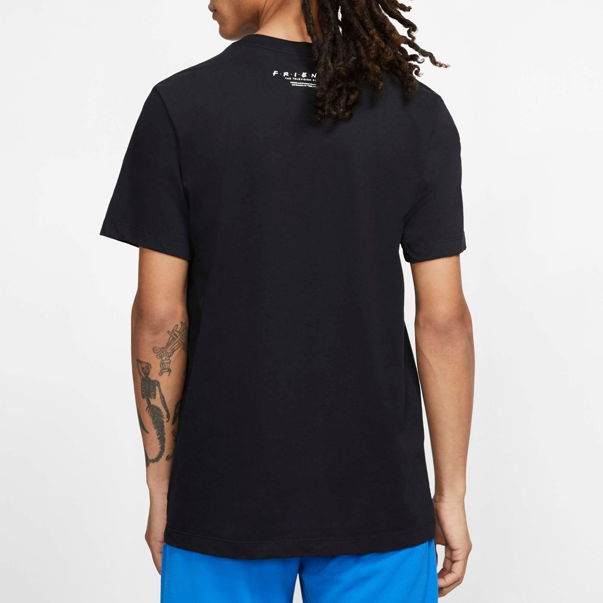 new product 89093 8df8f Nike - Black Dry Kyrie Irving Friends Graphic Tee for Men - Lyst. View  fullscreen