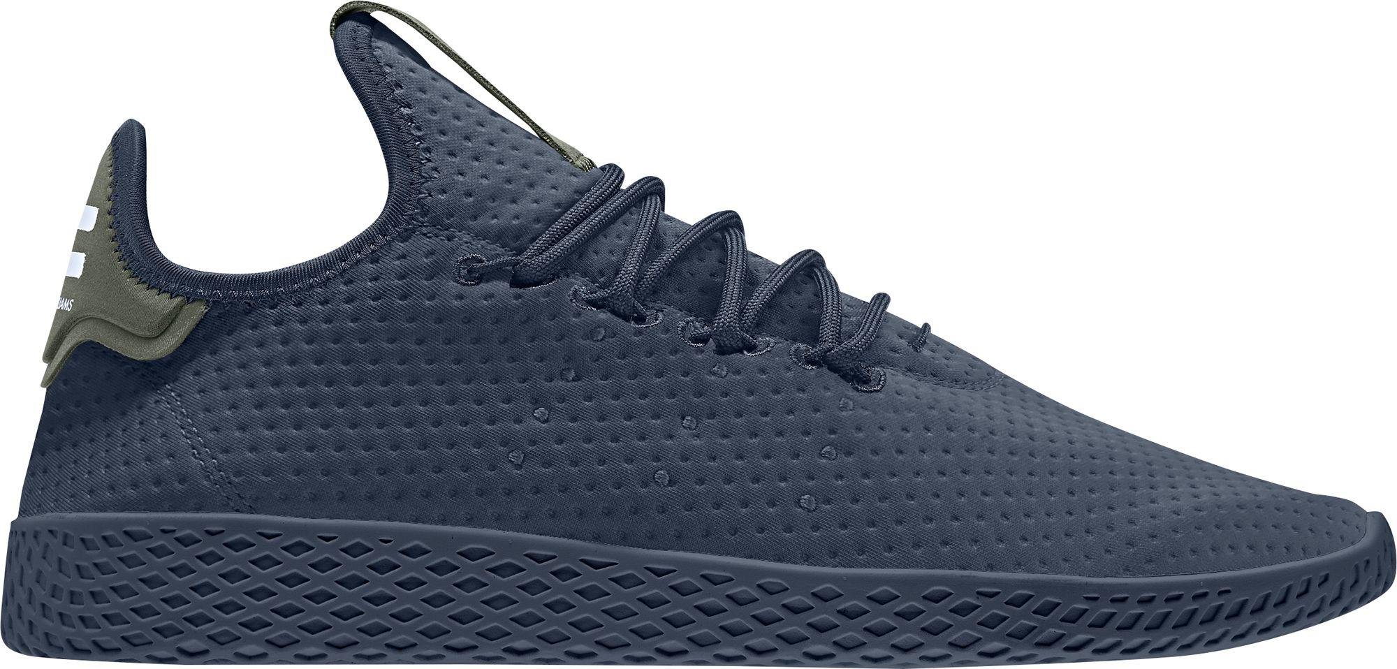cbc89d3a86a2f Lyst - adidas Originals Pharrell Williams Tennis Hu Shoes in Blue ...