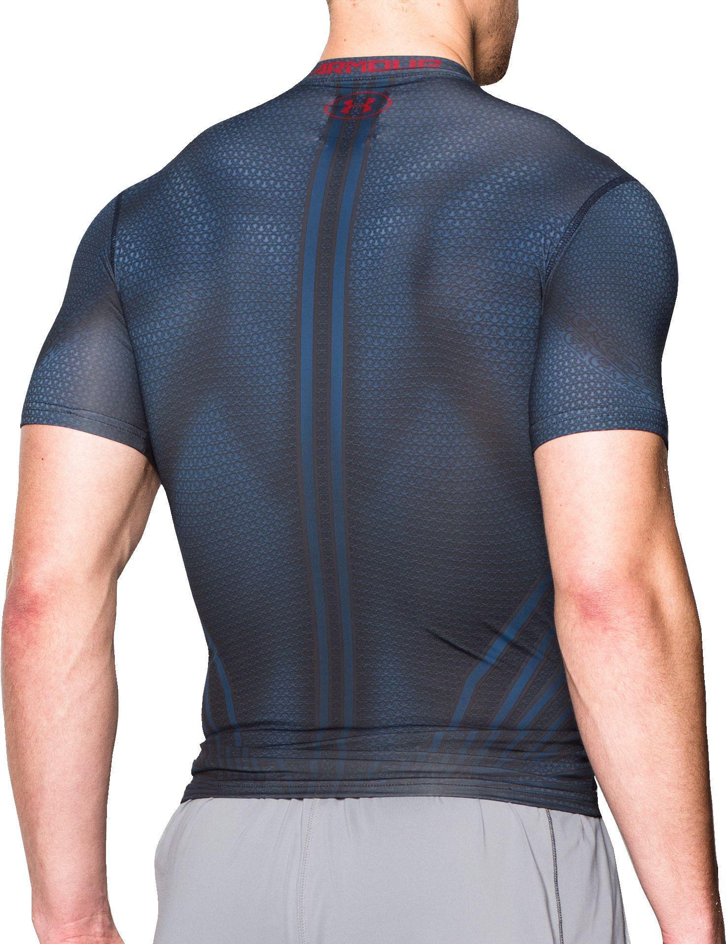 1f79d802 Under Armour - Blue Alter Ego Superman Compression T-shirt for Men - Lyst