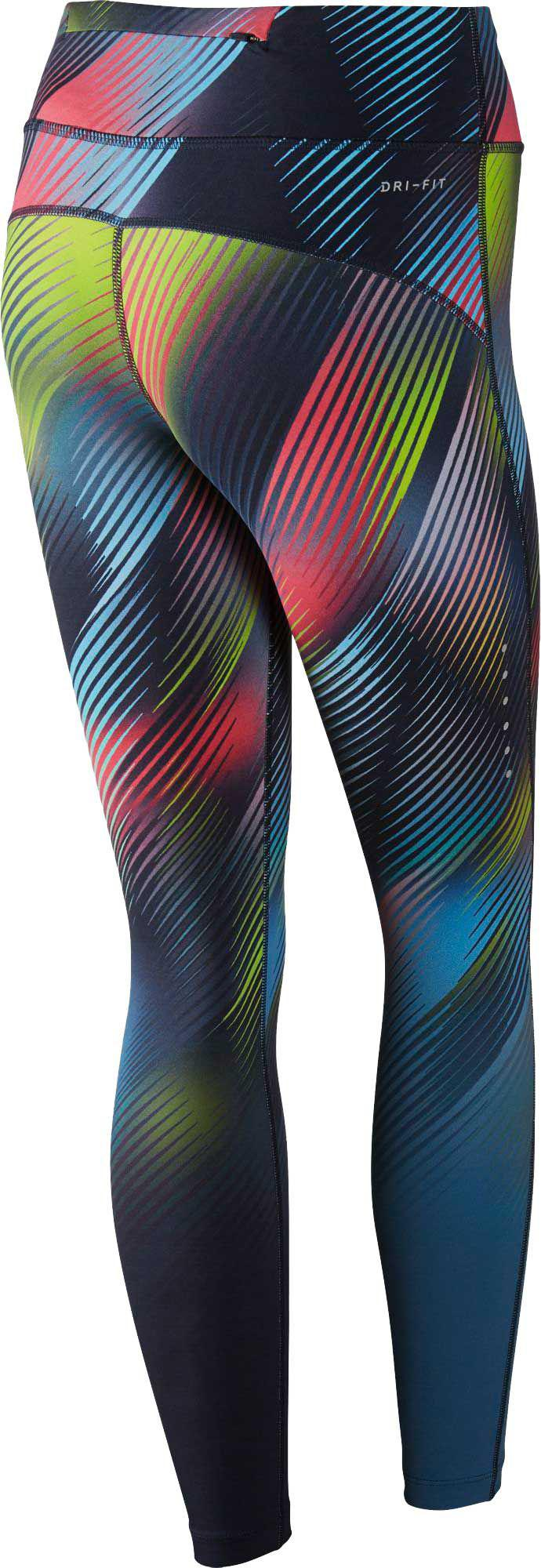 a72bb52e329 Nike - Blue Power Epic Lux Faded Printed Tights - Lyst. View fullscreen