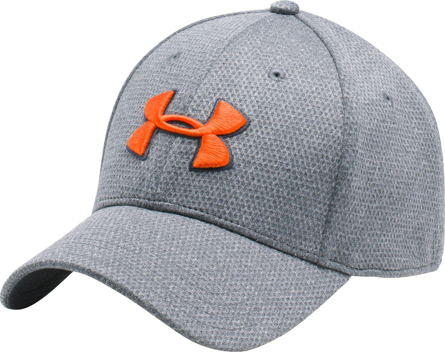0b7d9a3199c Lyst - Under Armour Heathered Blitzing Running Hat in Gray for Men