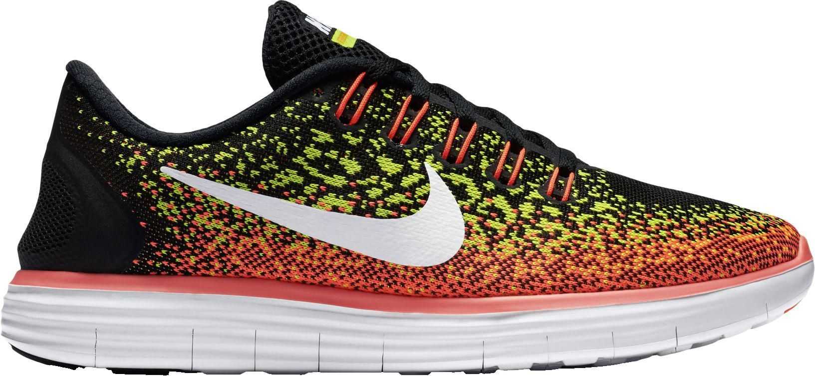 734e1d49d58 Lyst - Nike Free Distance Running Shoes in Black for Men