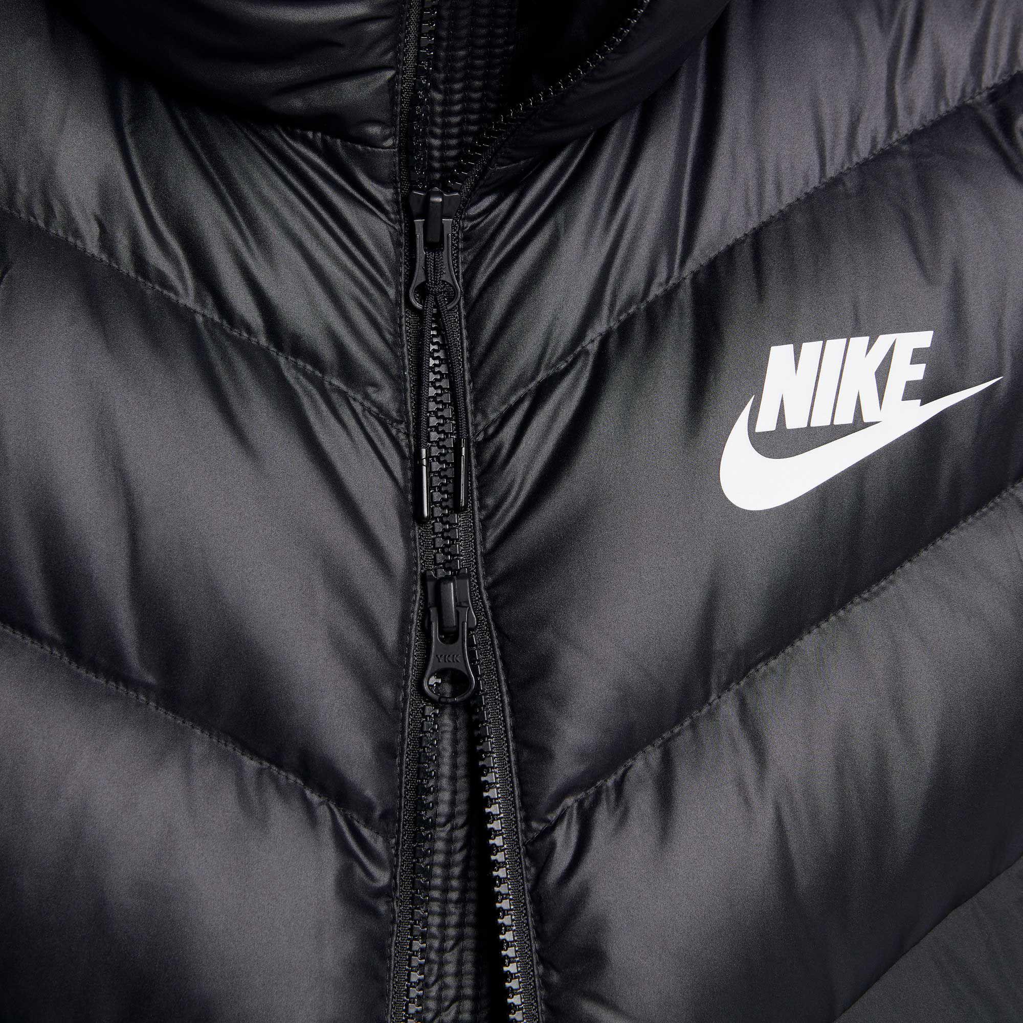 0712f51627e2 Lyst - Nike Sportswear Windrunner Down Jacket in Black for Men