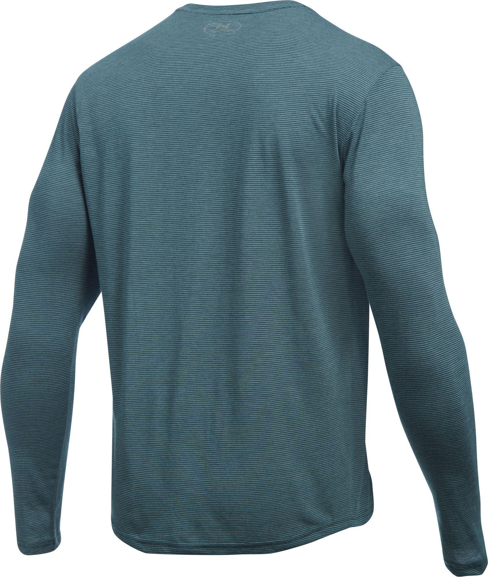 262dbfcec6bd Under Armour - Blue Threadborne Streaker Long Sleeve Running Shirt for Men  - Lyst