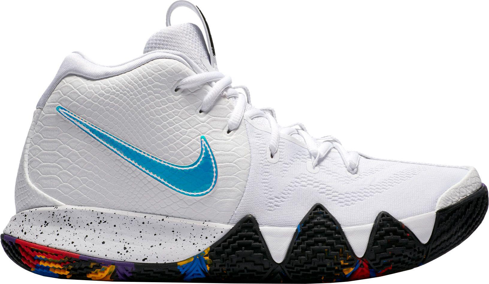 92ef2656e7c ... italy nike white kyrie 4 basketball shoes for men lyst 5a142 f4d04