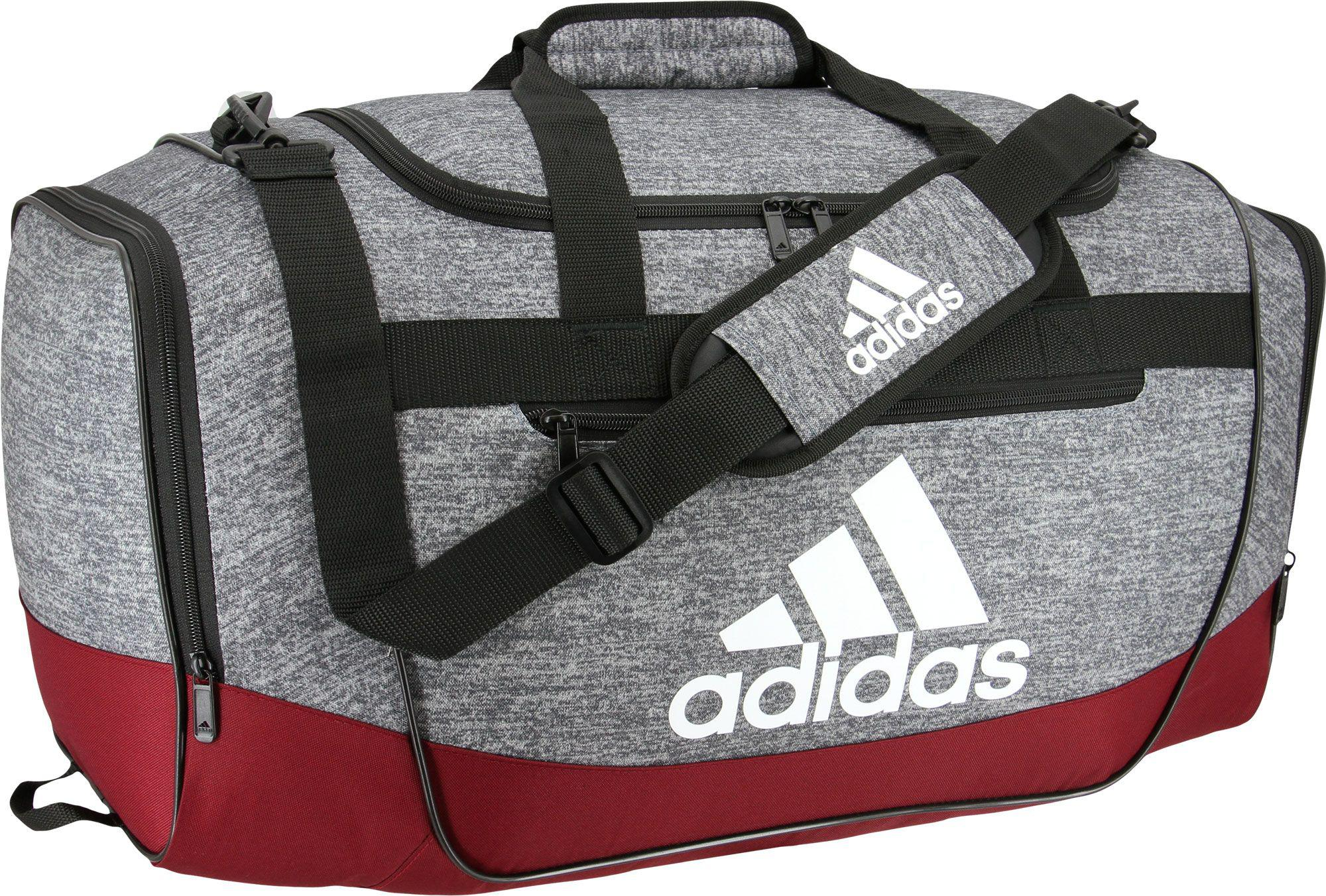 Lyst - adidas Defender Iii Medium Duffle Bag in Gray for Men 178f4e242a348