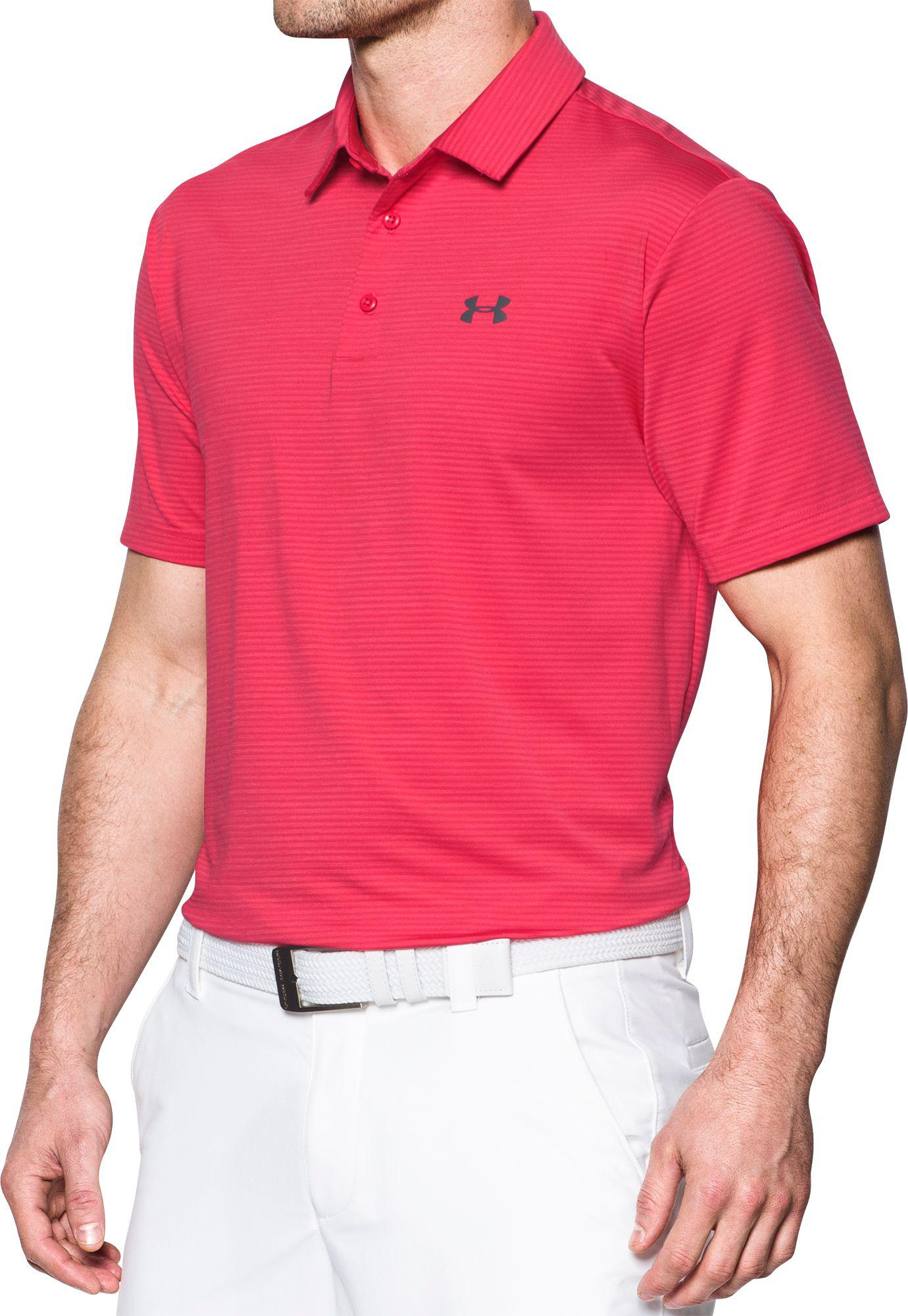 Lyst Under Armour Playoff Pencil Stripe Golf Polo In