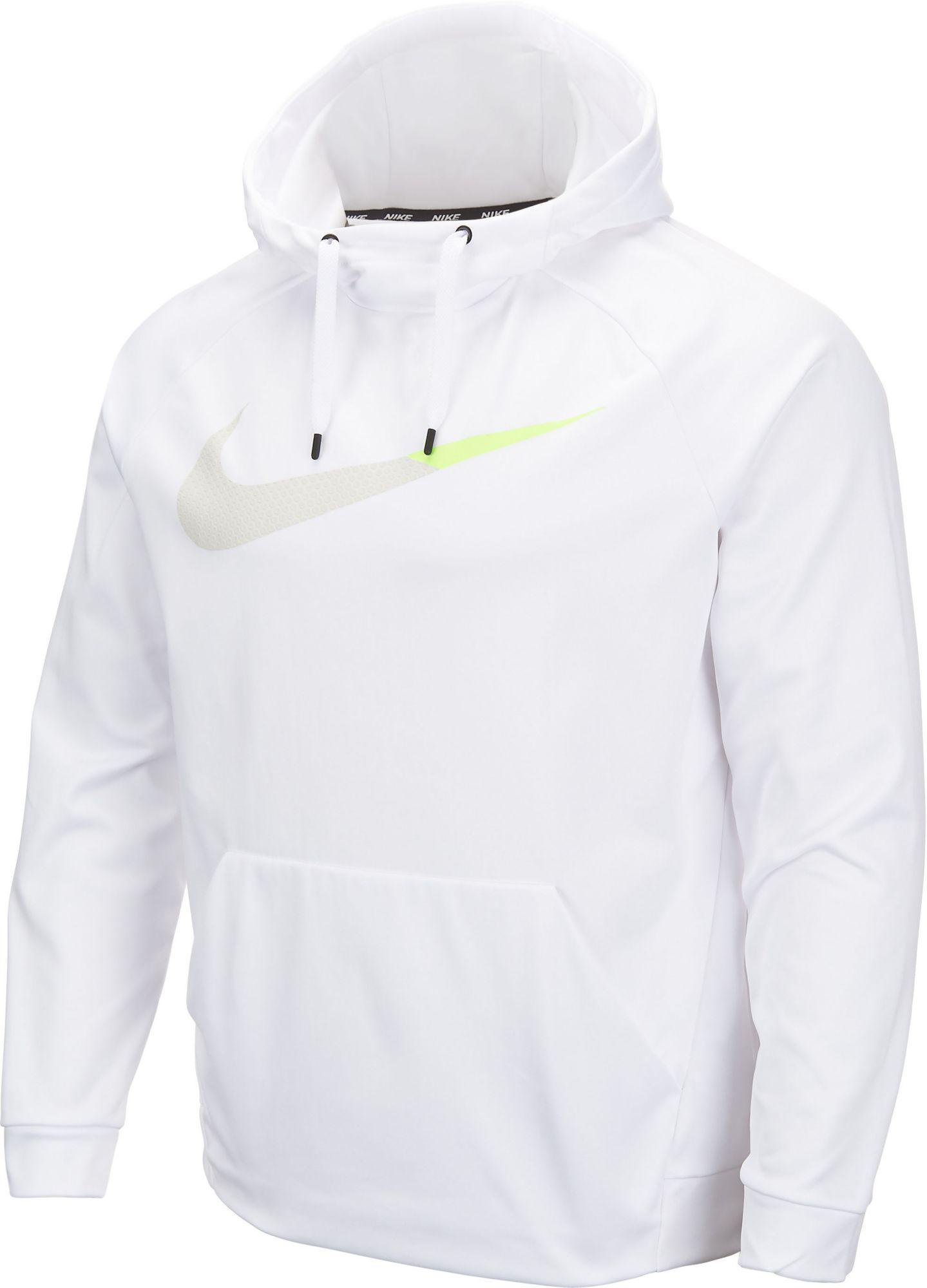 6f59a3c4ba0e66 Lyst - Nike Therma Graphic Hoodie in White for Men