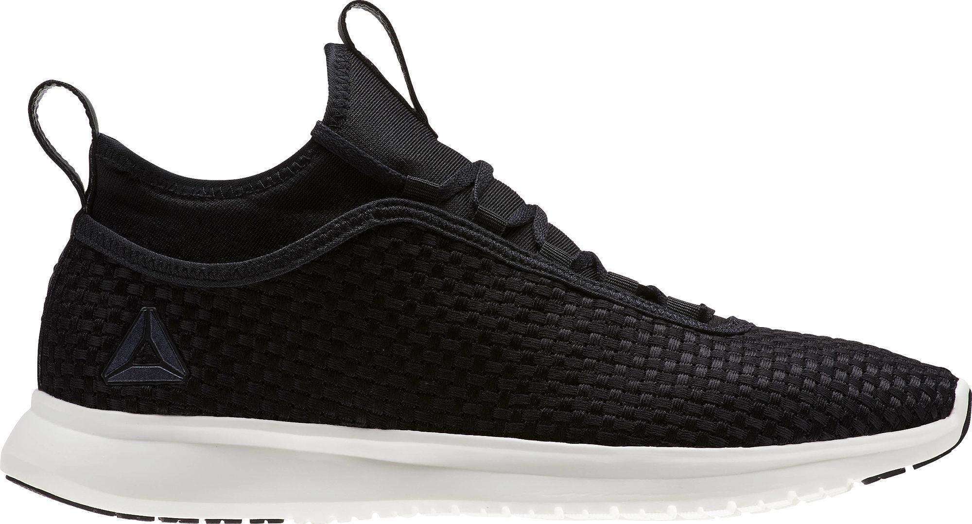 Lyst - Reebok Plus Runner Woven Running Shoes in Black for Men 232a8d85f